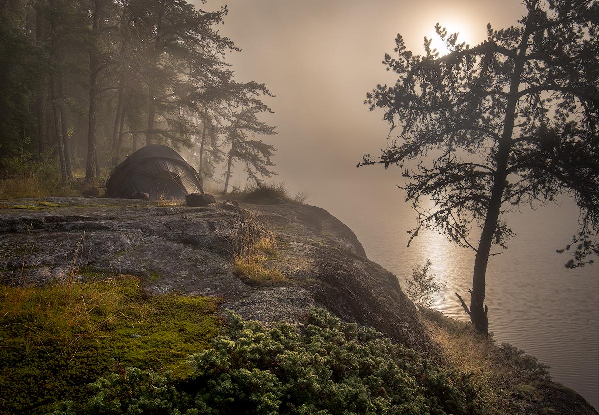 Morning Mist on the Bloodvein