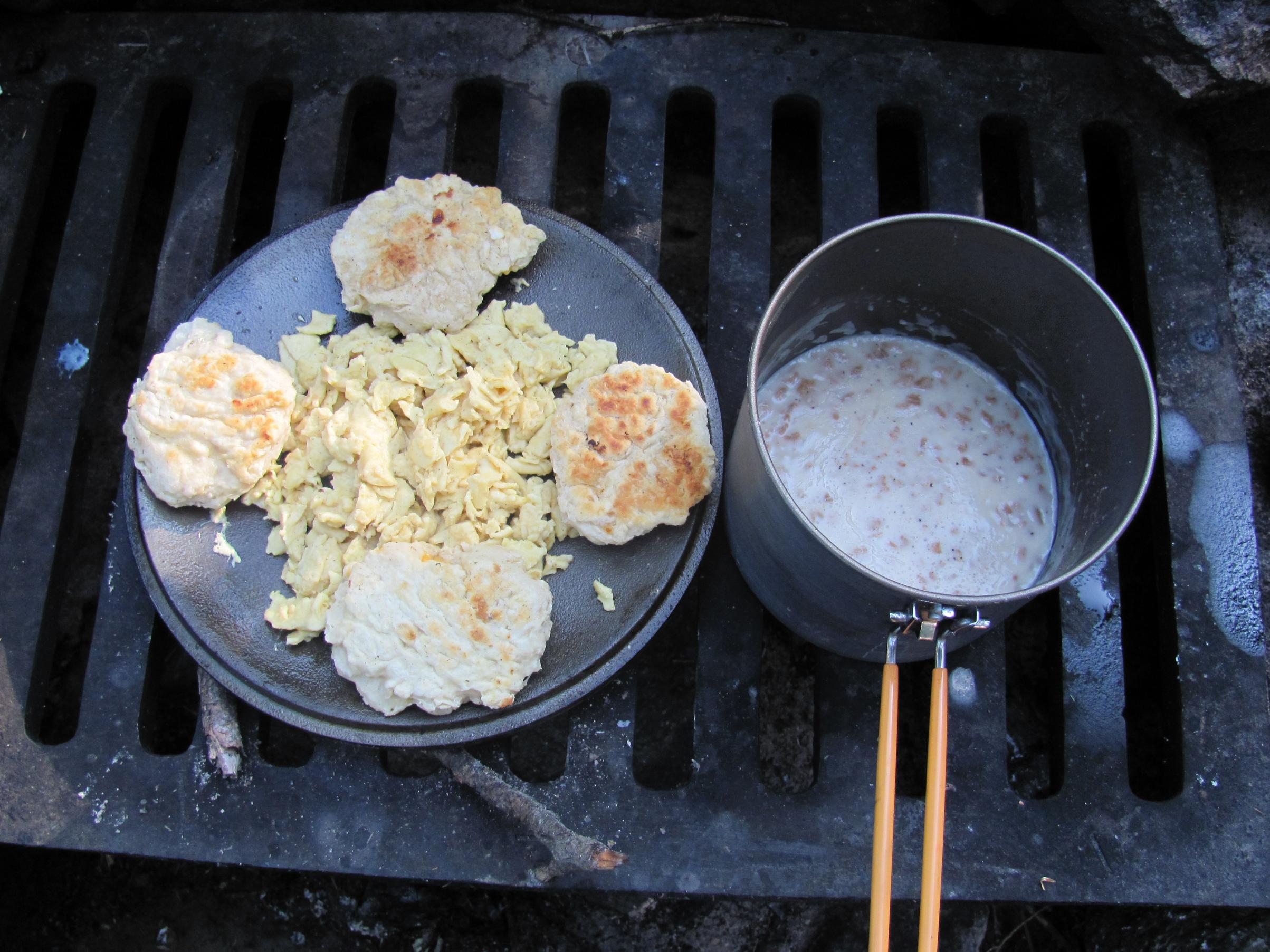 Biscuits 'n Gravy - Eggs