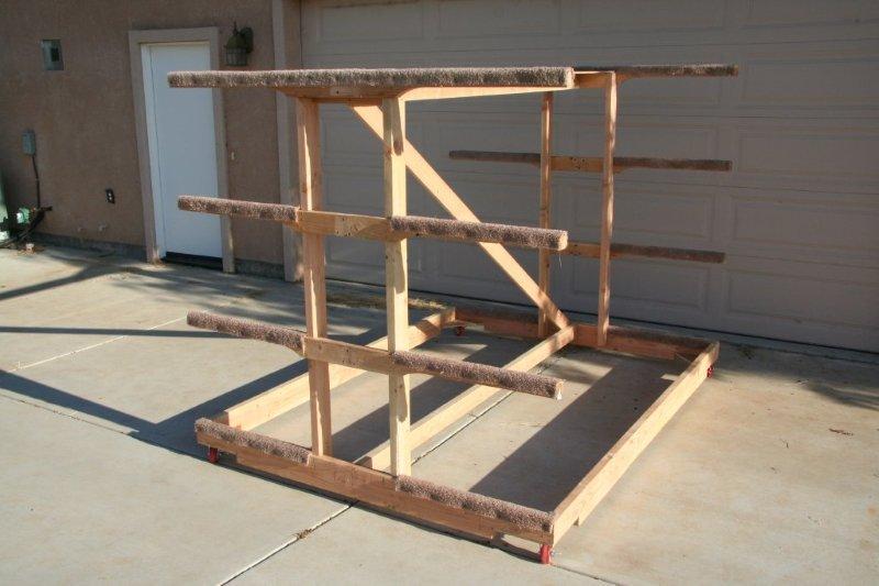 Outdoor+Canoe+Rack+Plans Outdoor Canoe Storage Rack Plans