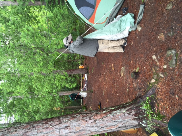 Tent pads