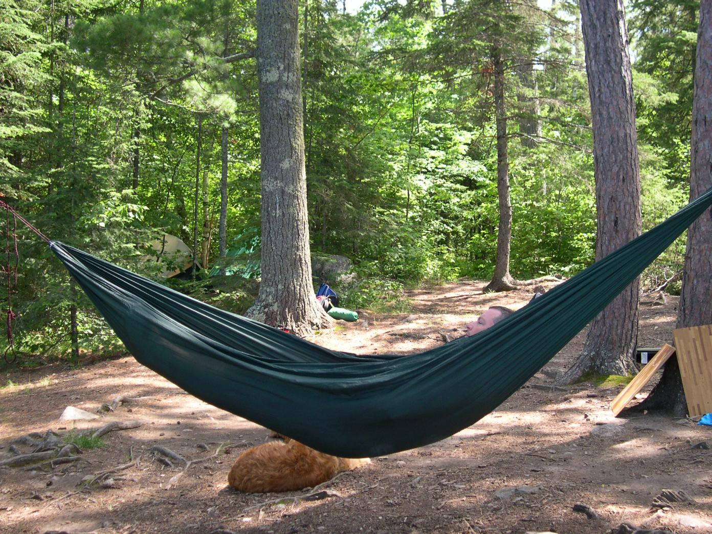 i recently bought a hennessy hammock since the single hammock was always full  the hh will be primarily for relaxing reading away from bugs  bwca does anyone bring a hammock boundary waters gear forum  rh   bwca