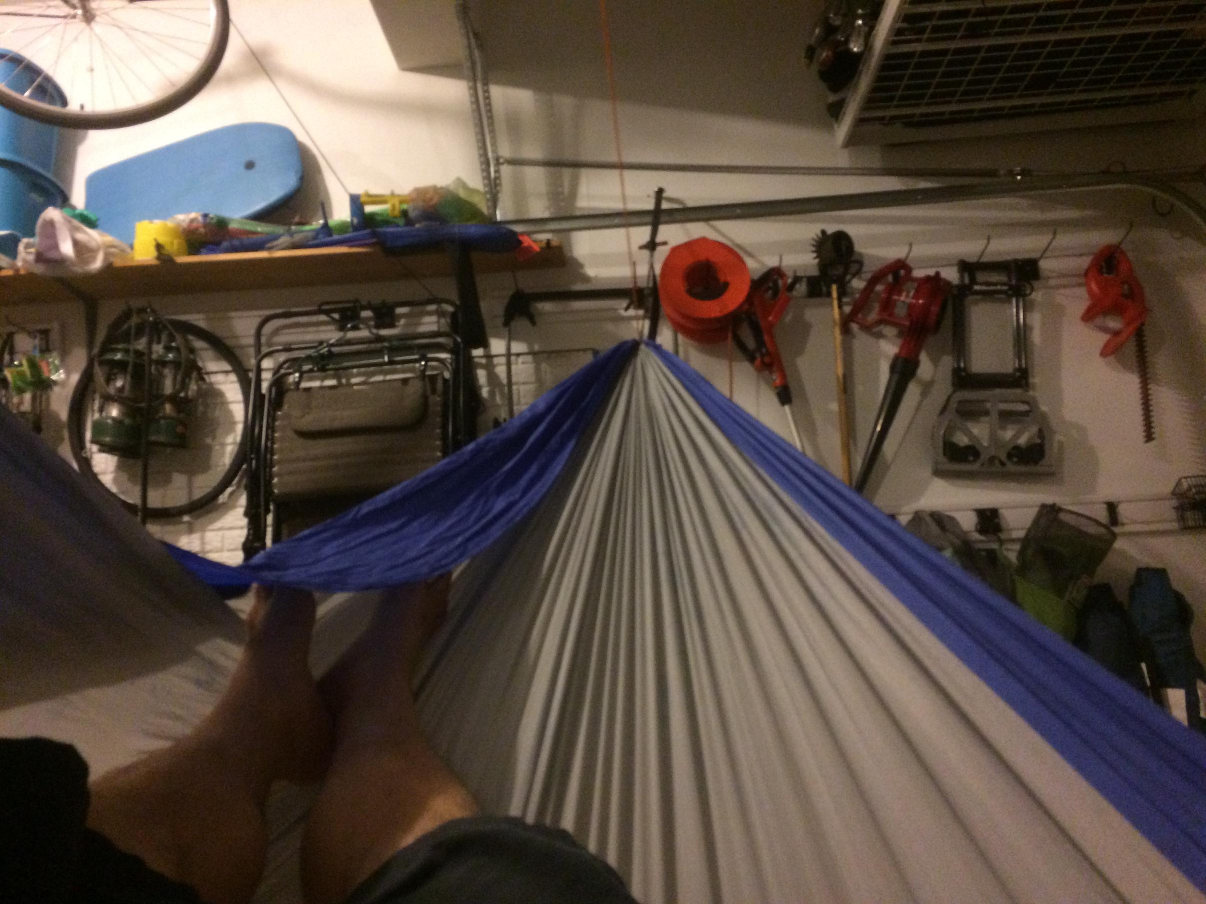 getting out of the hammock was a chore   i think it must u0027ve been sewed with a shorter bias on the side panels to increase the tub like feel  bwca reviving an old hammock   suspension makes the difference      rh   bwca