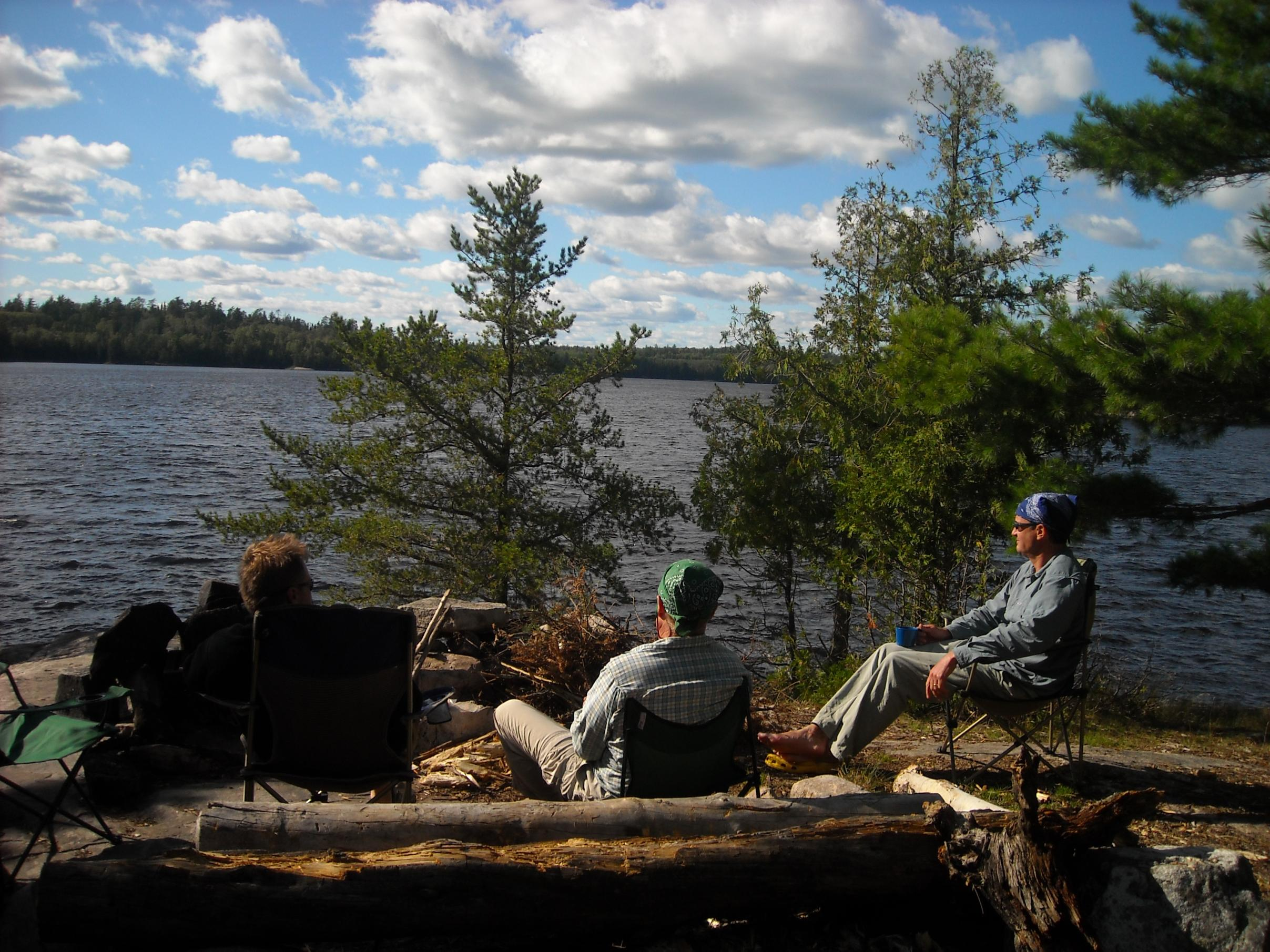 a chair is nice to have in camp  bwca camp chair  boundary waters gear forum  rh   bwca