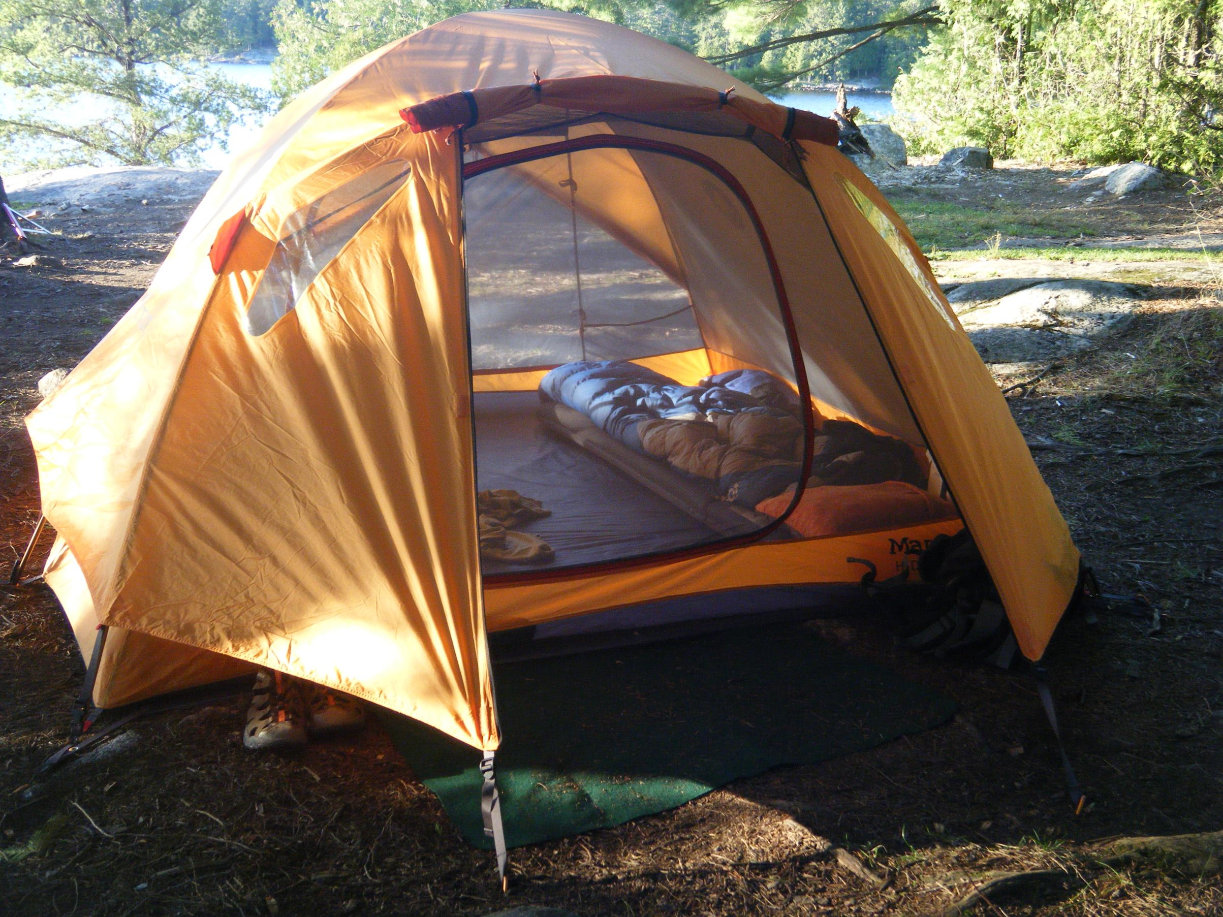The tent that has made the most trips with me is the Marmot Hideaway 4. I really like this tent and donu0027t know why they discontinued it. & Boundary Waters Message Board Forum BWCA BWCAW Quetico Park