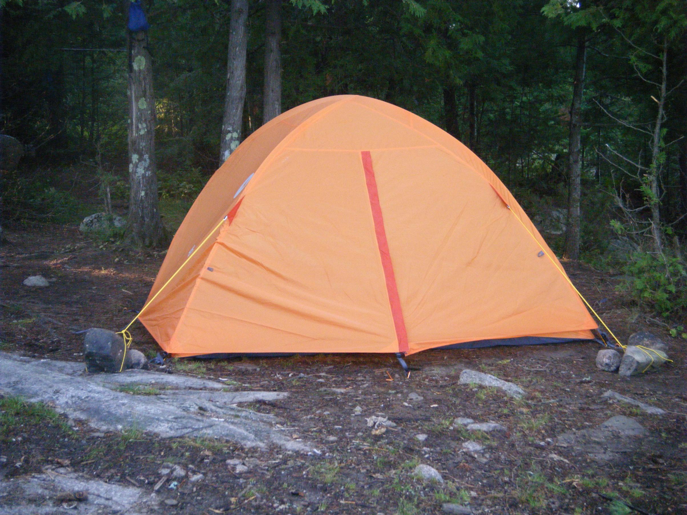 Marmot Hideaway 4 person tent. My best 2-man tent. & BWCA Best tent for 2 people? HELP! Boundary Waters Gear Forum