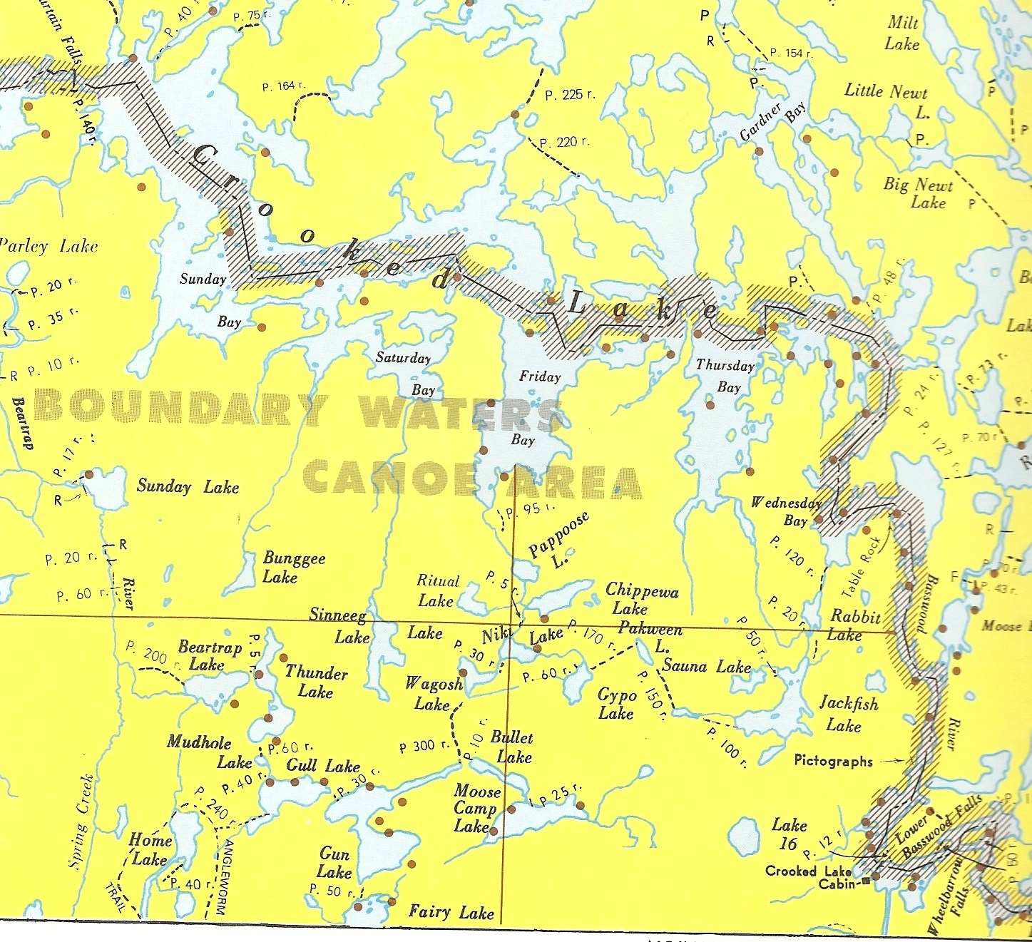 Bwca Crooked Lake Campsites Boundary Waters Trip Planning Forum
