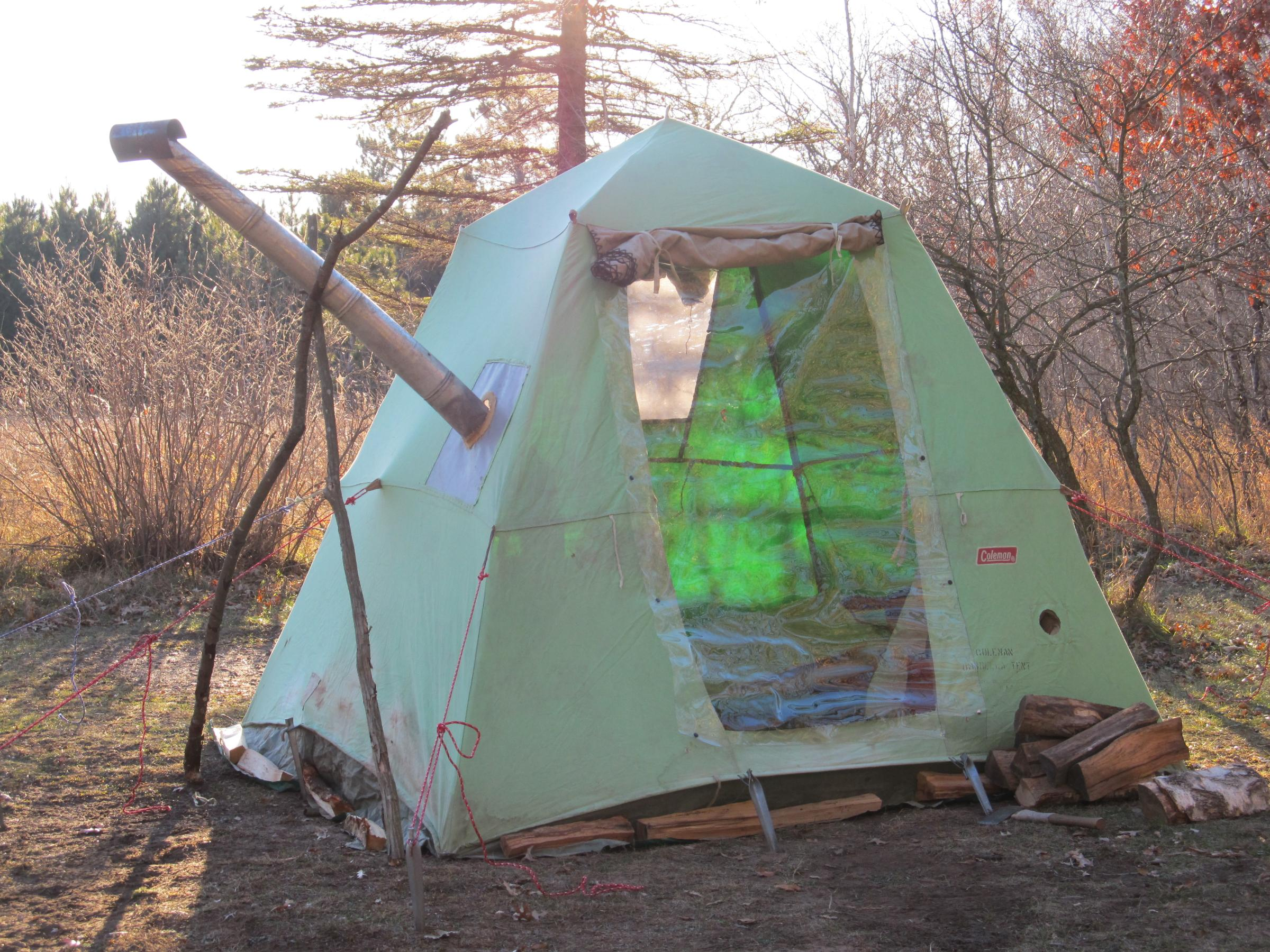 Diy Tent Bwca My Diy Solo Winter Tent Boundary Waters Winter Camping And