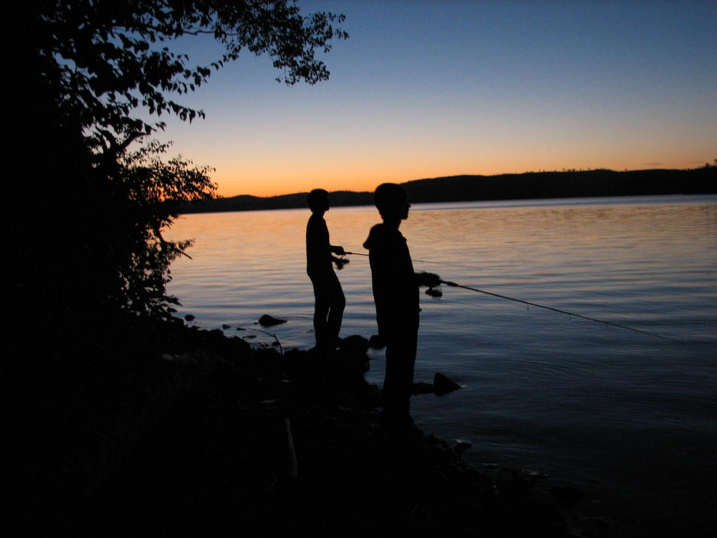 Hamer nature photos 187 boundary waters -  Memories Just My 2 Sons And Myself Fishing And Camping On Mountain Lake We Caught Lakers Right Off Shore Of Our Campsite