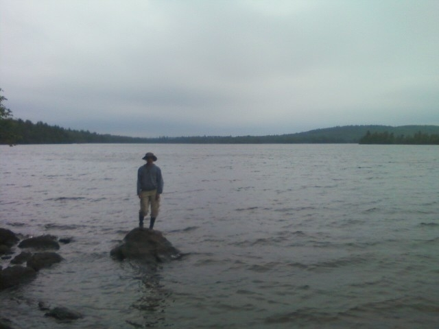 Boy in the Boundary Waters