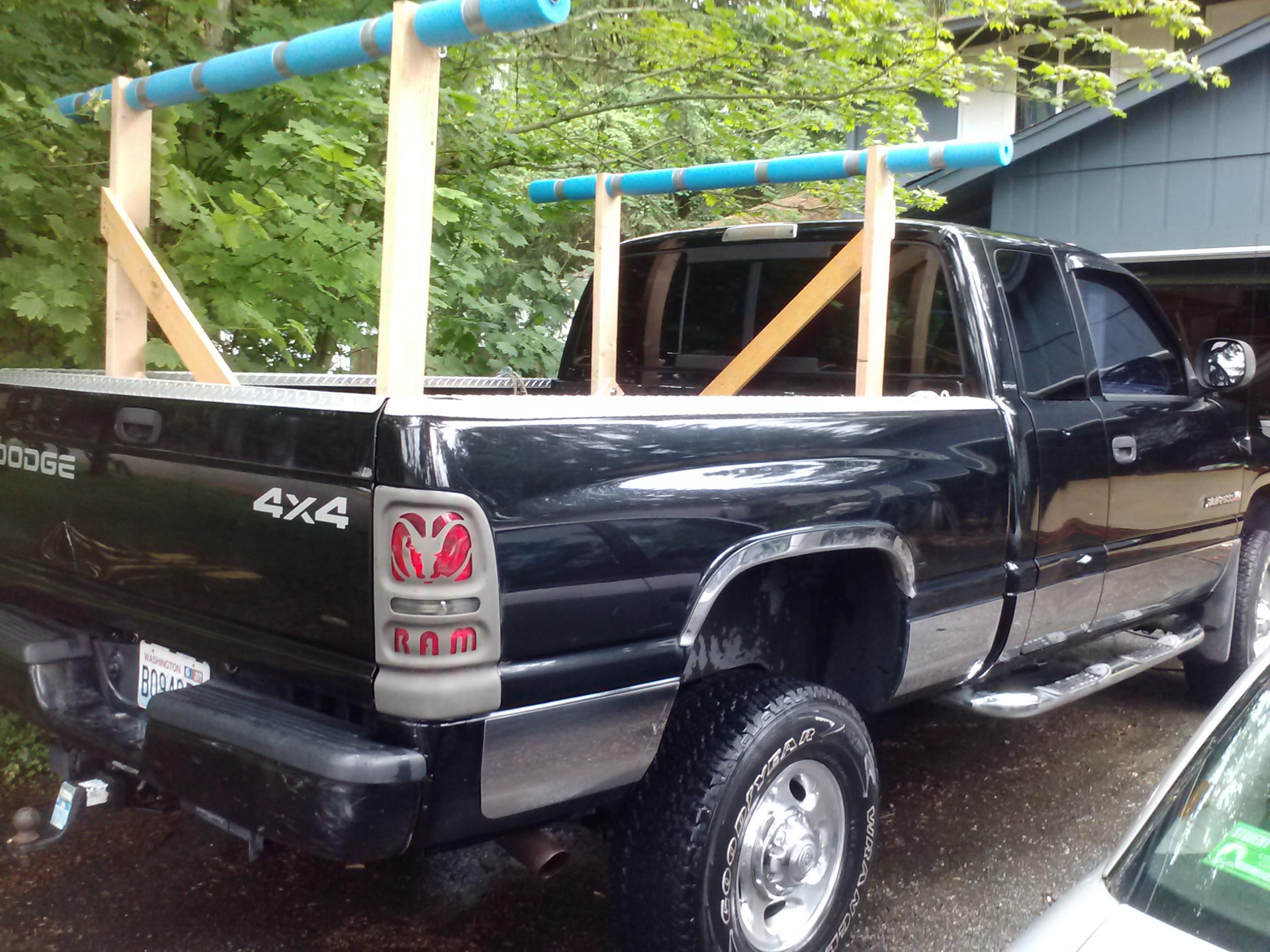Tips Building A Canoe Rack For Truck Jamson