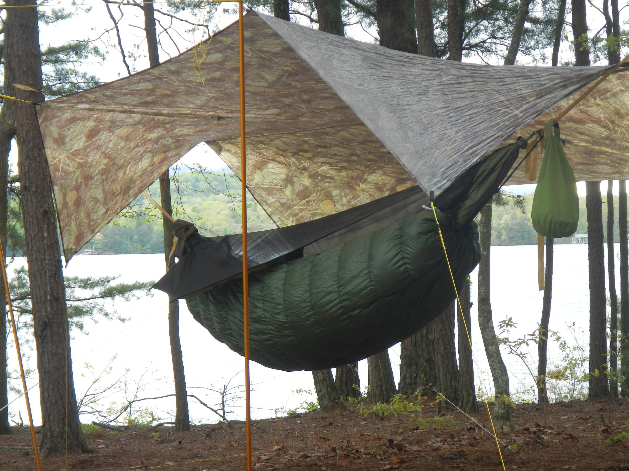 here u0027s my new hammock gear cuben fiber tarp   bwca let u0027s see your hammock tarp boundary waters private group      rh   bwca