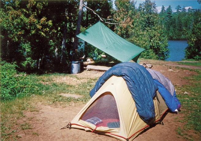 Moss Tent on Horseshoe Dr. Sam Gaeten's