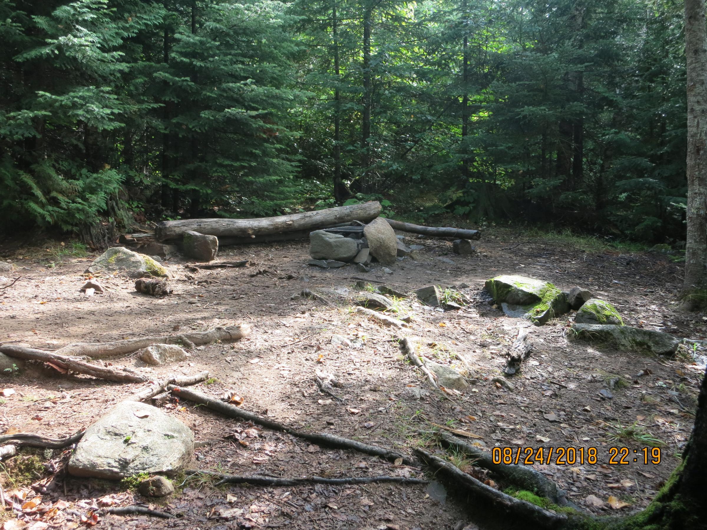 campsite at Deer Lake