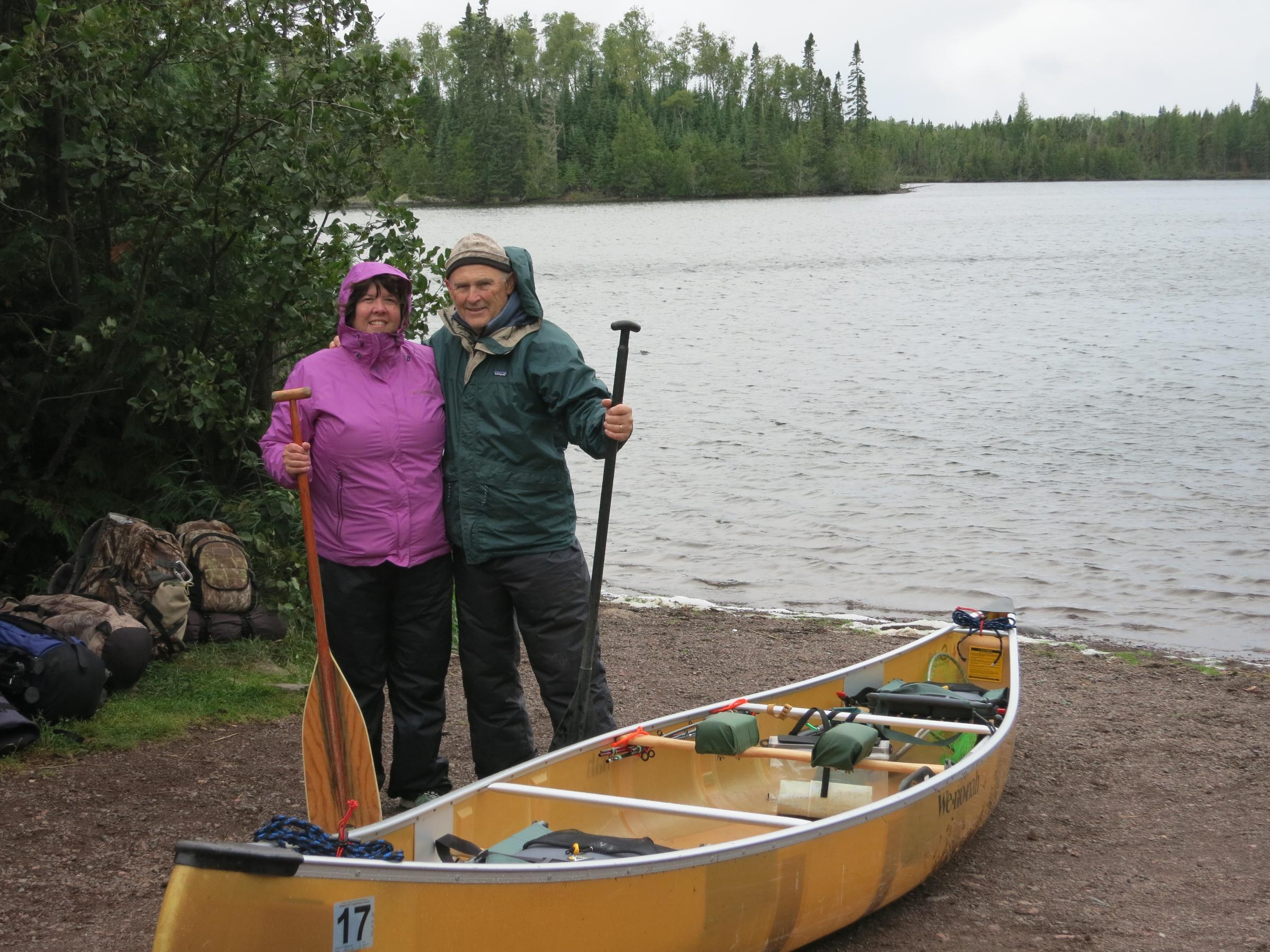 Brule Lake departure