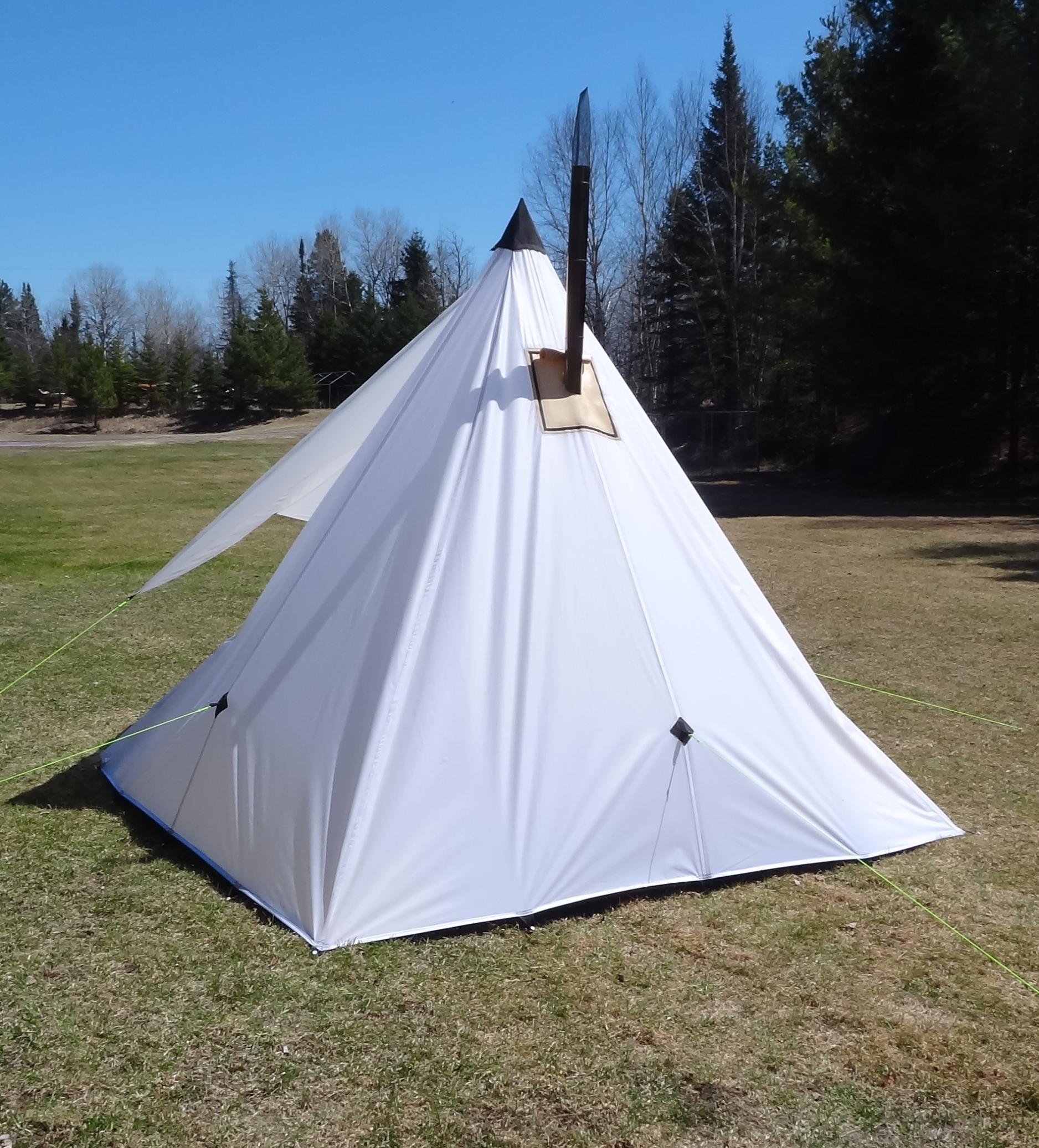 Bwca Pyramid Tent Done Boundary Waters Private Group