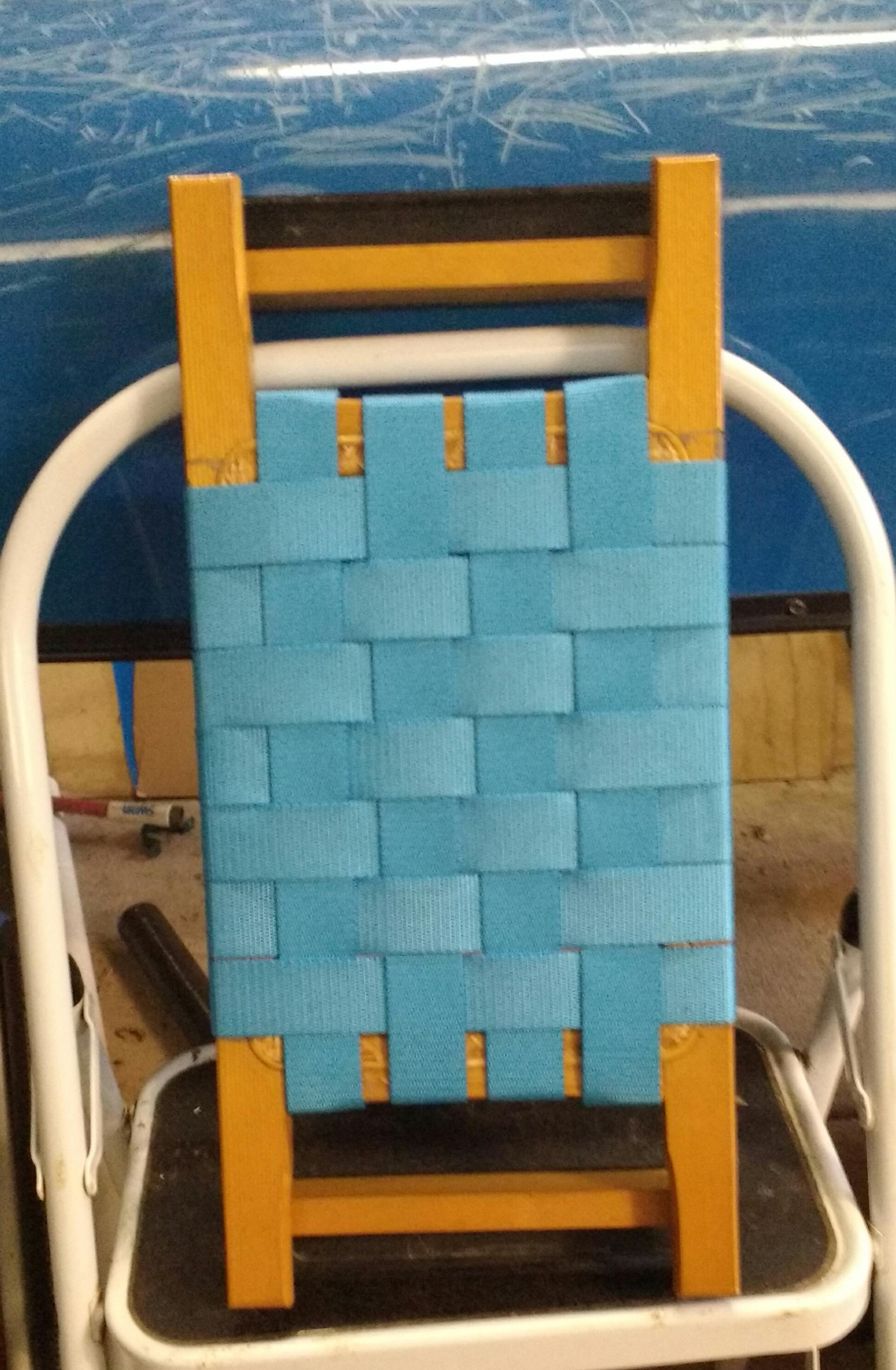 Canoe Seat Webbing