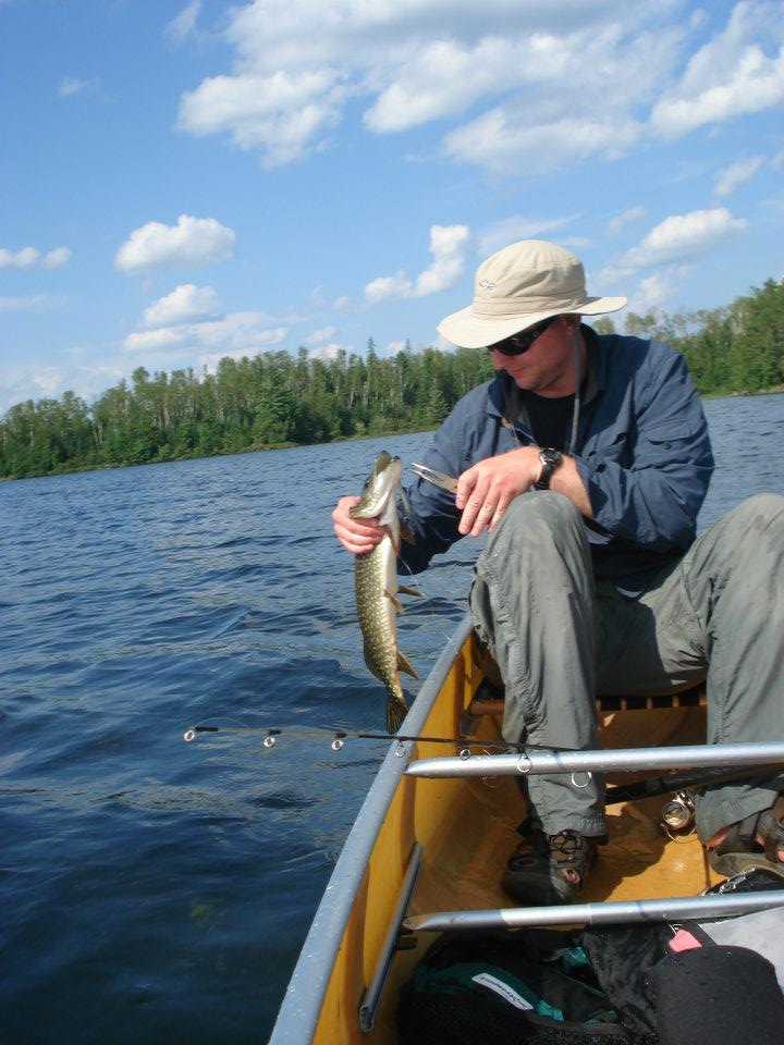 Bwca back from four nights in the knife lake area boundary for Boundary waters fishing