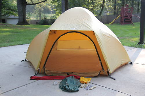 The North Face VE-24 3 Person Four Season Mountain Tent SOLD ! Mods please omit. & Thread