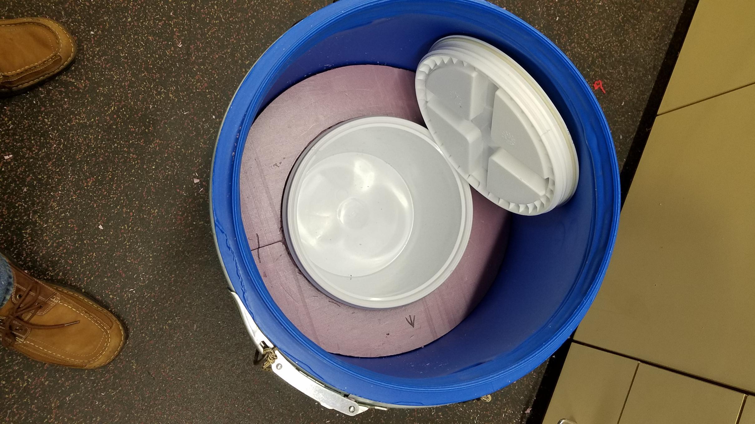 60 L Barrel / 2 gal Cooler