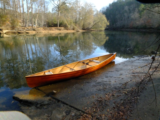 December on the Tugaloo River