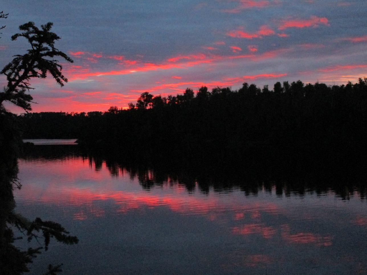 Cherokee Lake sunset