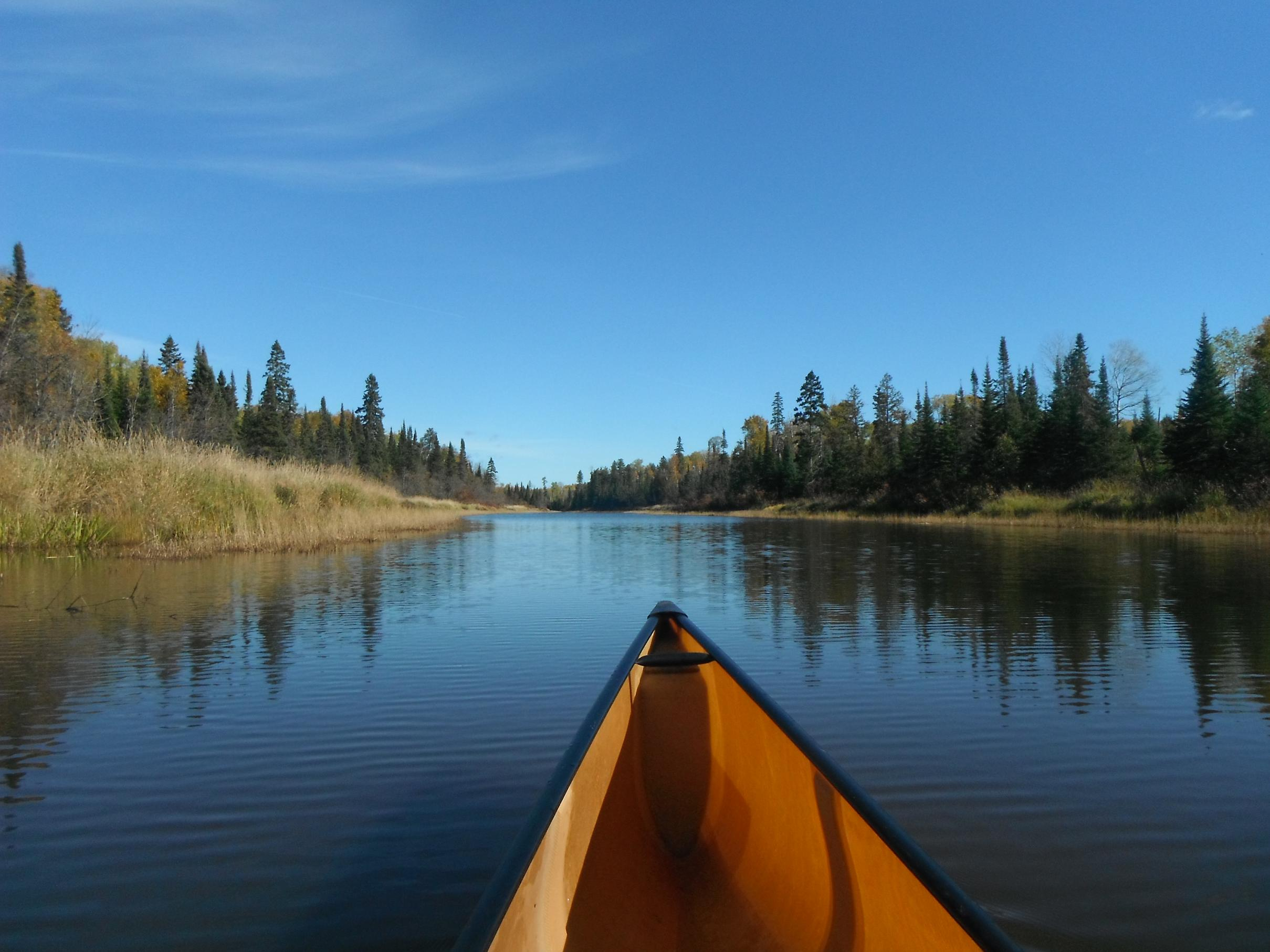 a report on a trip to the boundary waters canoe area