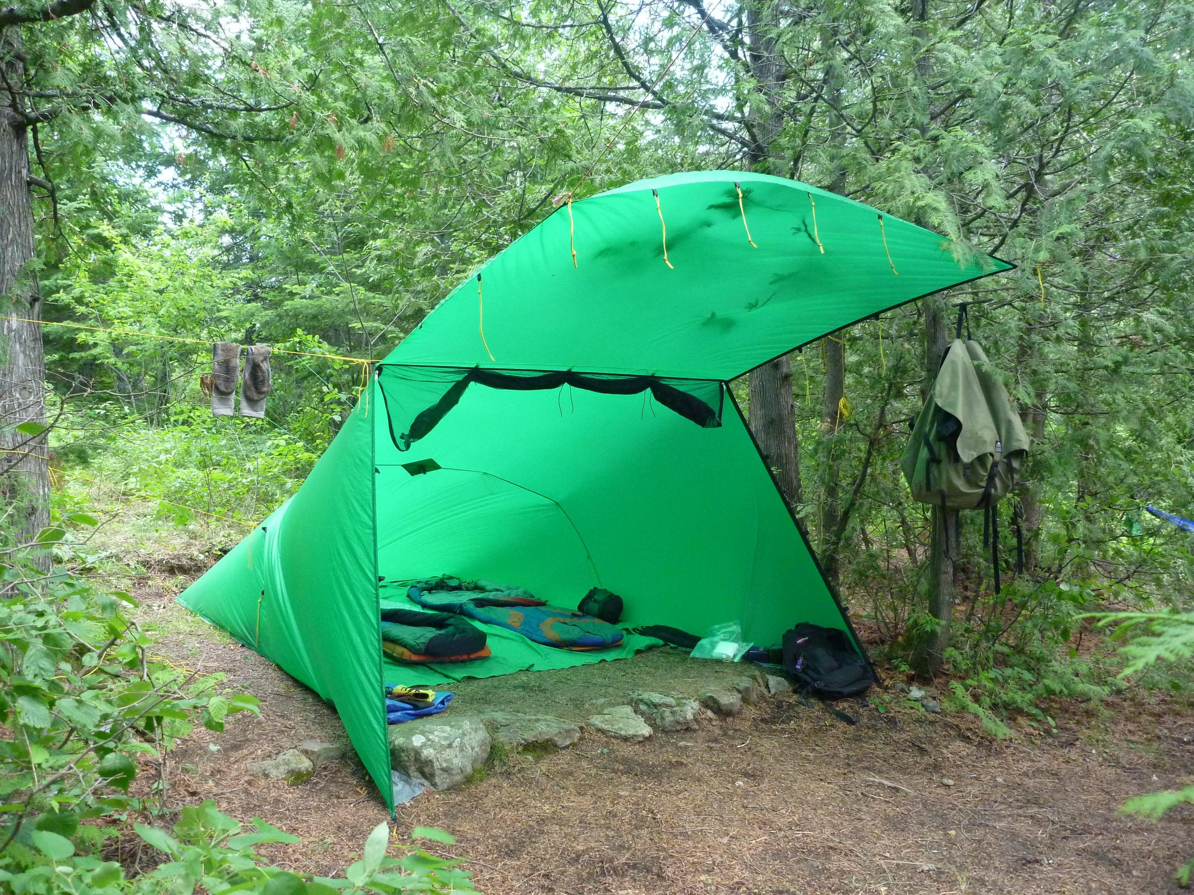 & BWCA Lean Ground Cloth Question Boundary Waters Gear Forum