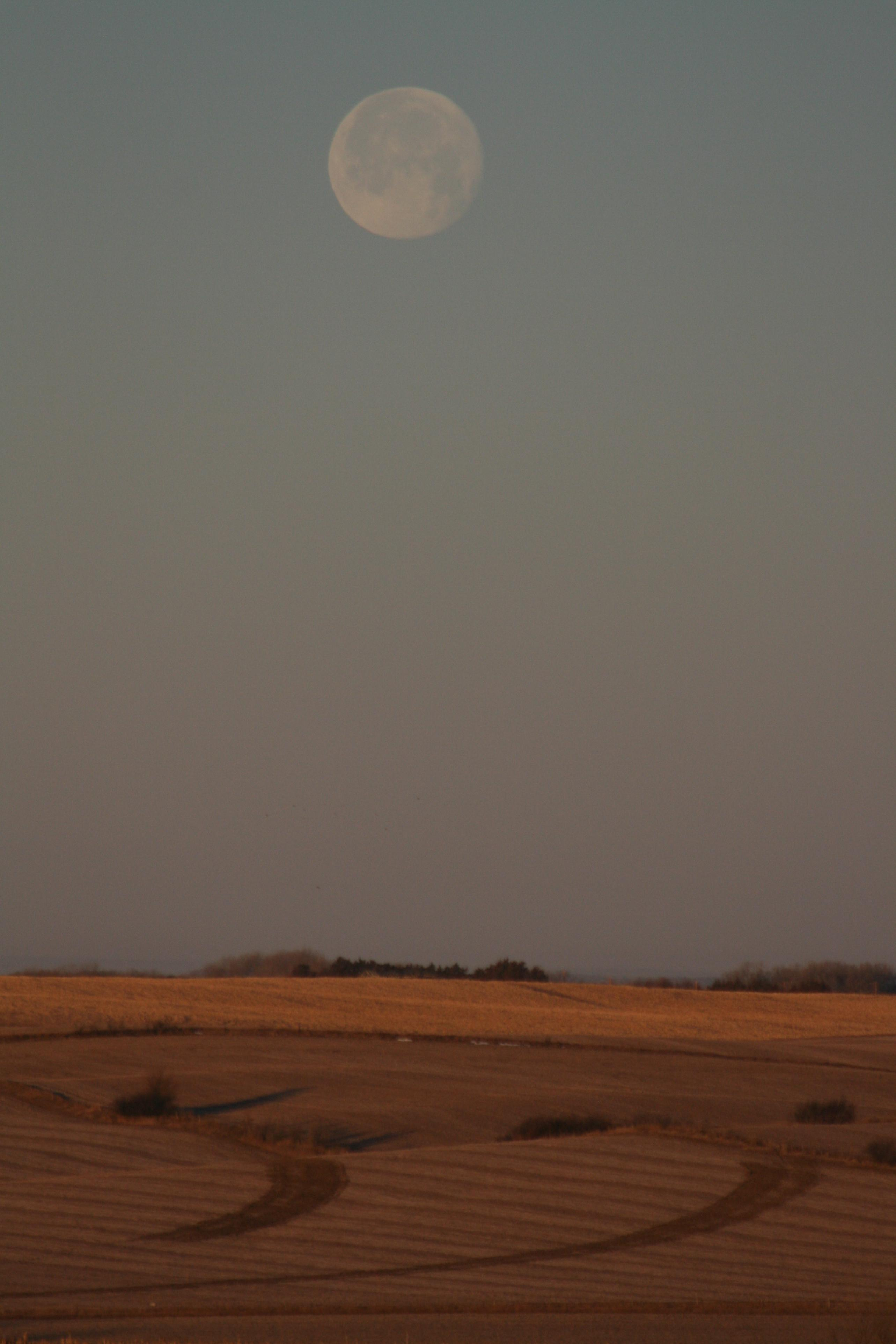Moon over Nebraska