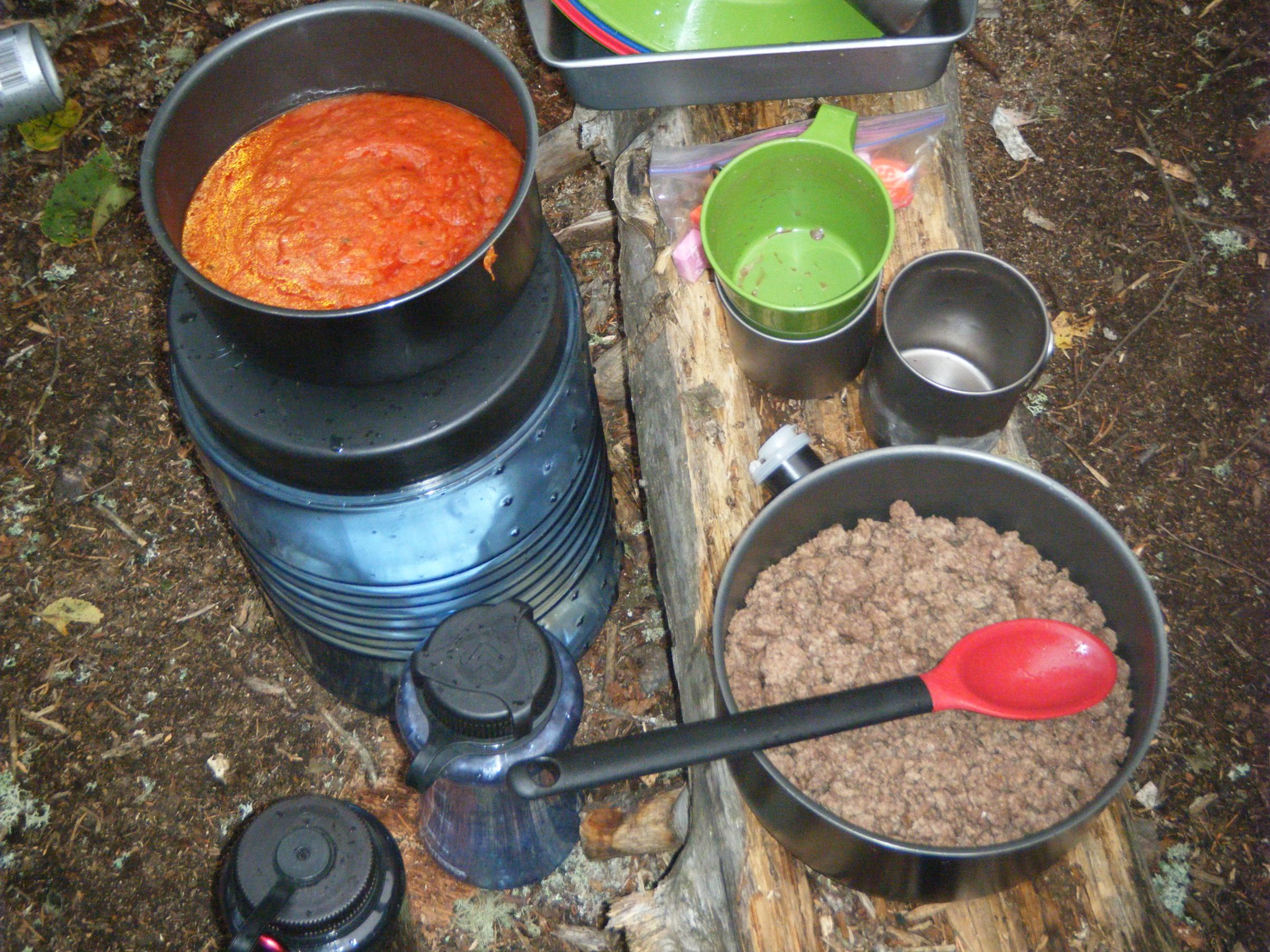 BWCA Recommendations for Food Pack and Camp Cookware Boundary ...