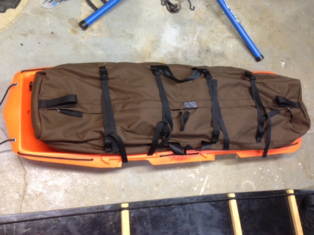 wanted paris expedition sled