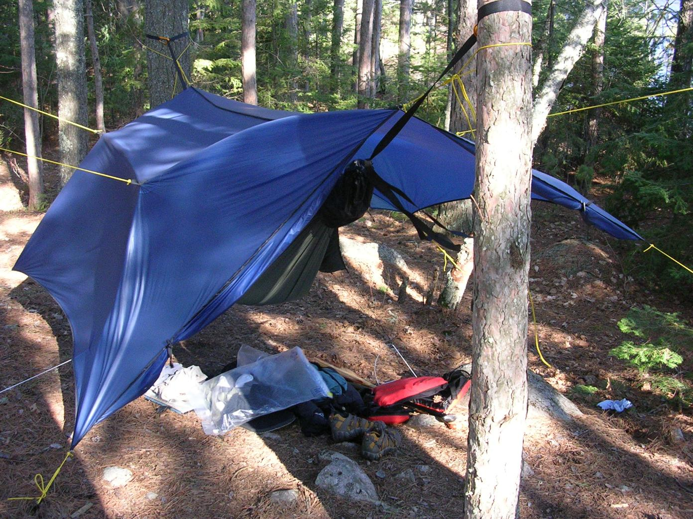 Warbonnet Blackbird Hammock and Superfly Tarp