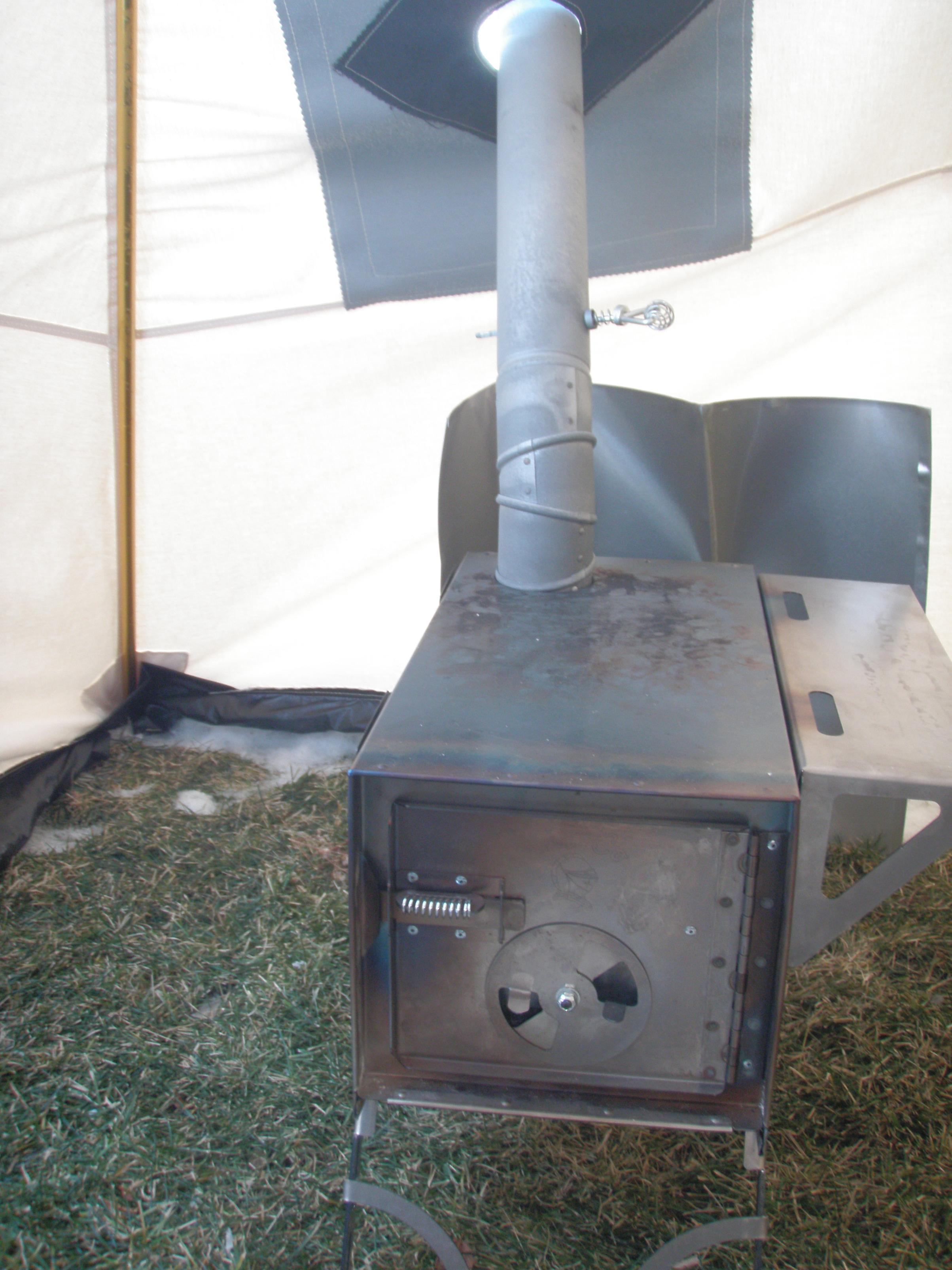 snowtrekker with stove