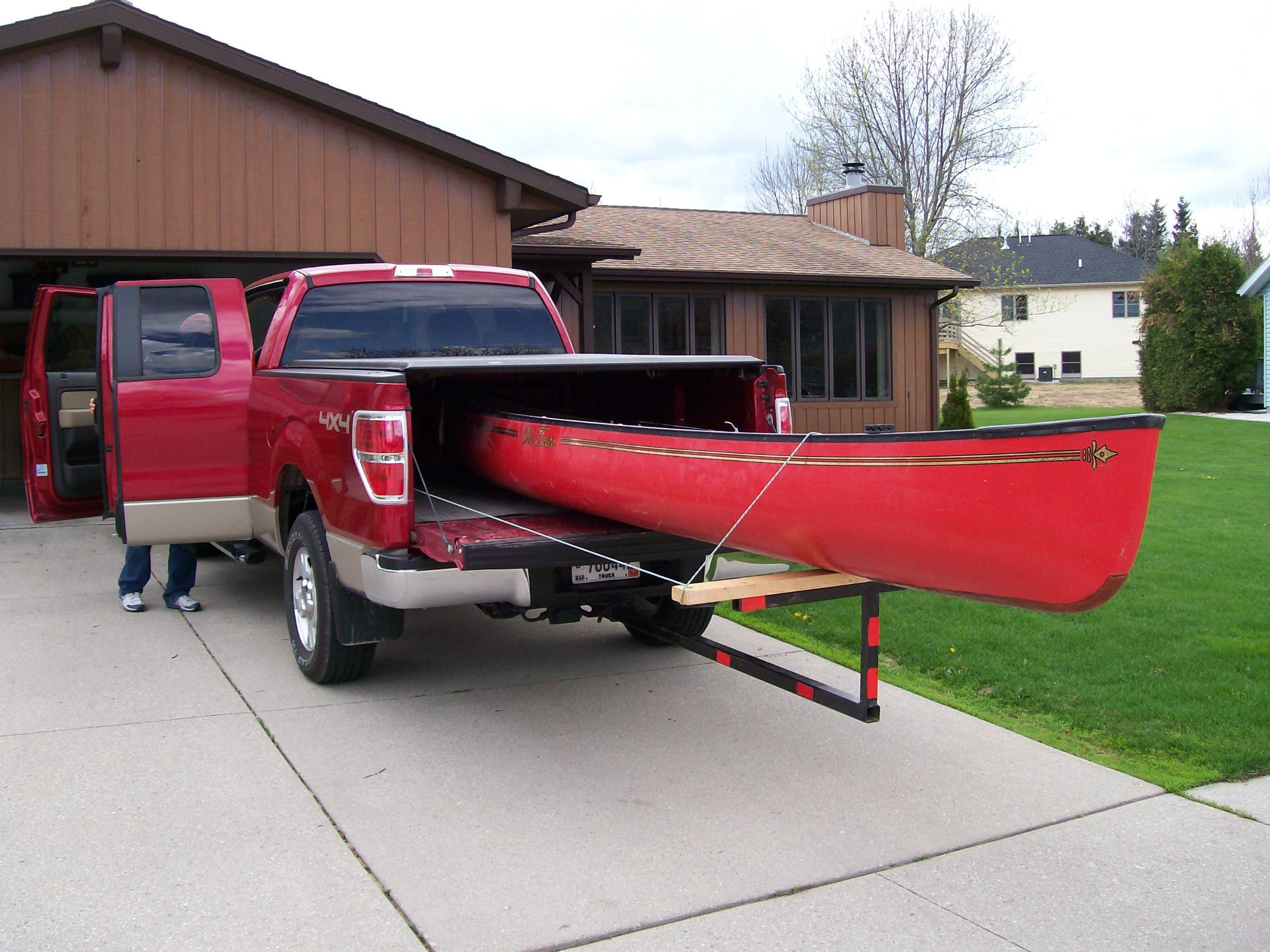 Kayak Roof Rack For Two 12ft Boards In A 6ft Truck Bed - DIY Truck Rack - General ...