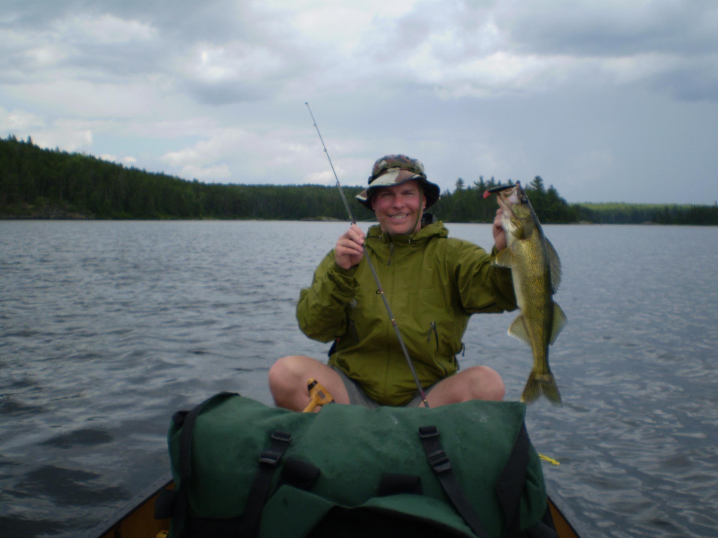 Bwca favorite walleye trolling lure boundary waters for Boundary waters fishing