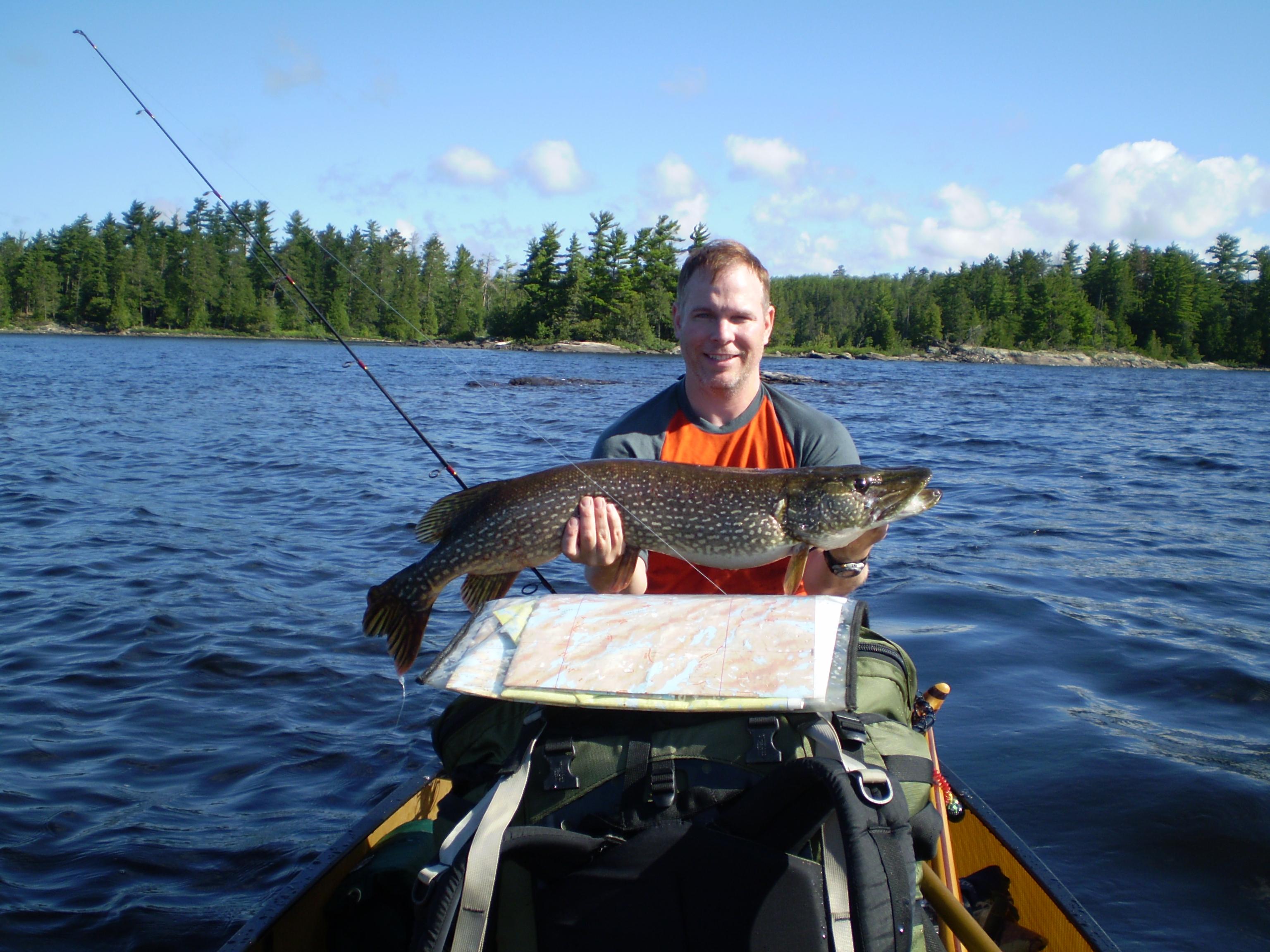 Bwca want big pike boundary waters fishing forum for Boundary waters fishing