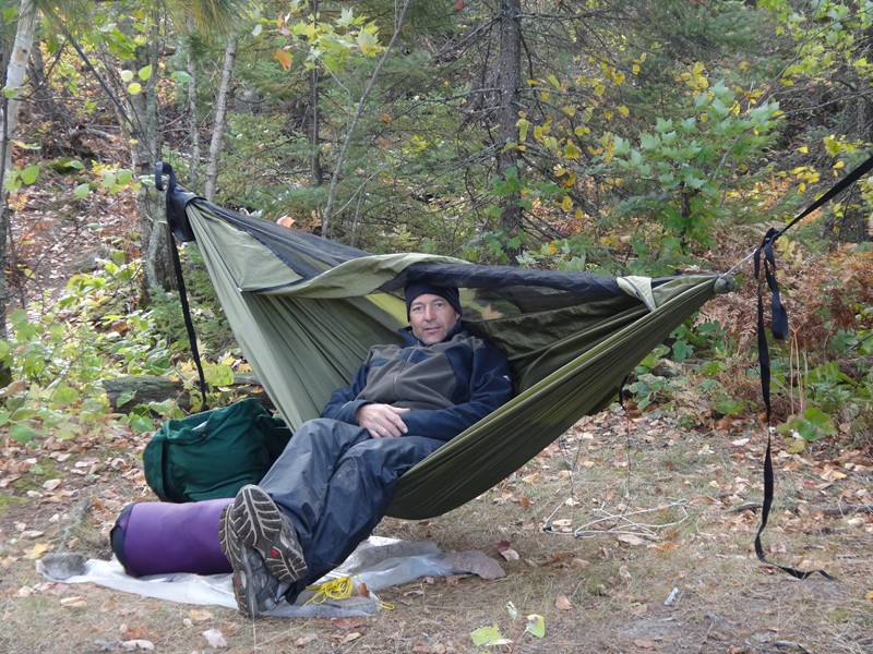 BWCA Hammock -vs- Tent Boundary Waters Private Group Forum Solo Tripping : hammoc tent - memphite.com