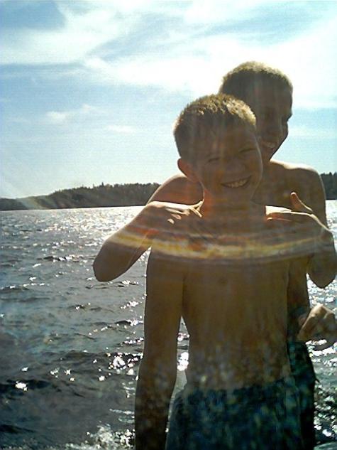 summertime on Lake Three