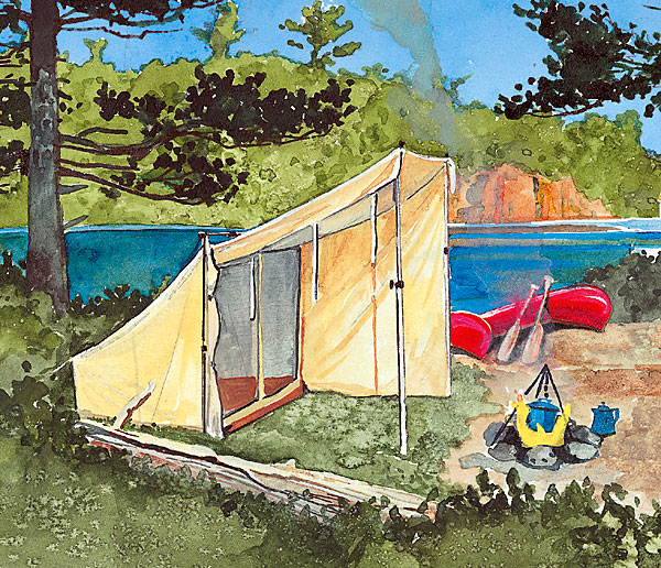 Mini Cfire Tent
