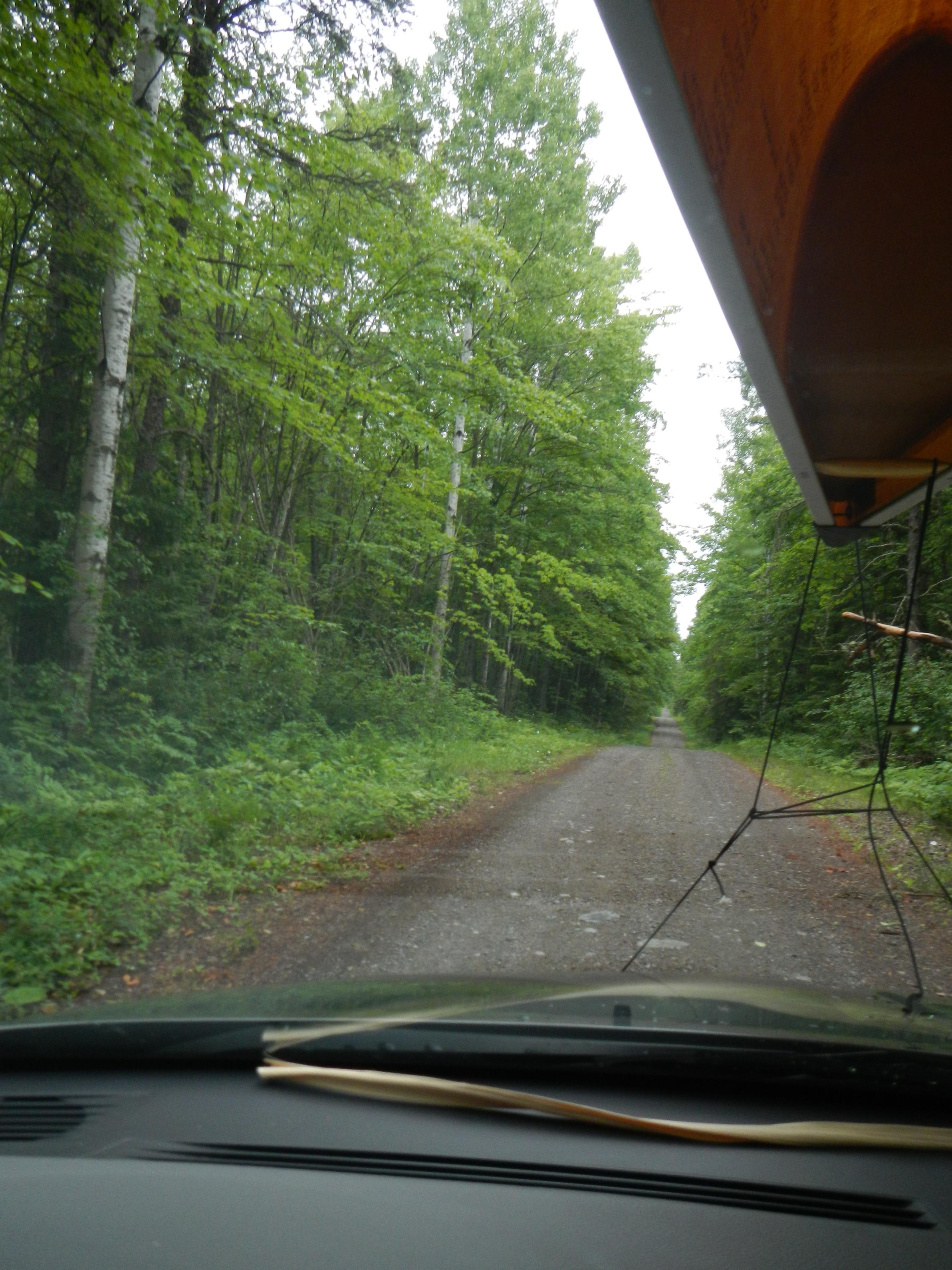 Spur road