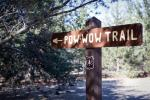 The Pow Wow Trail is that way.
