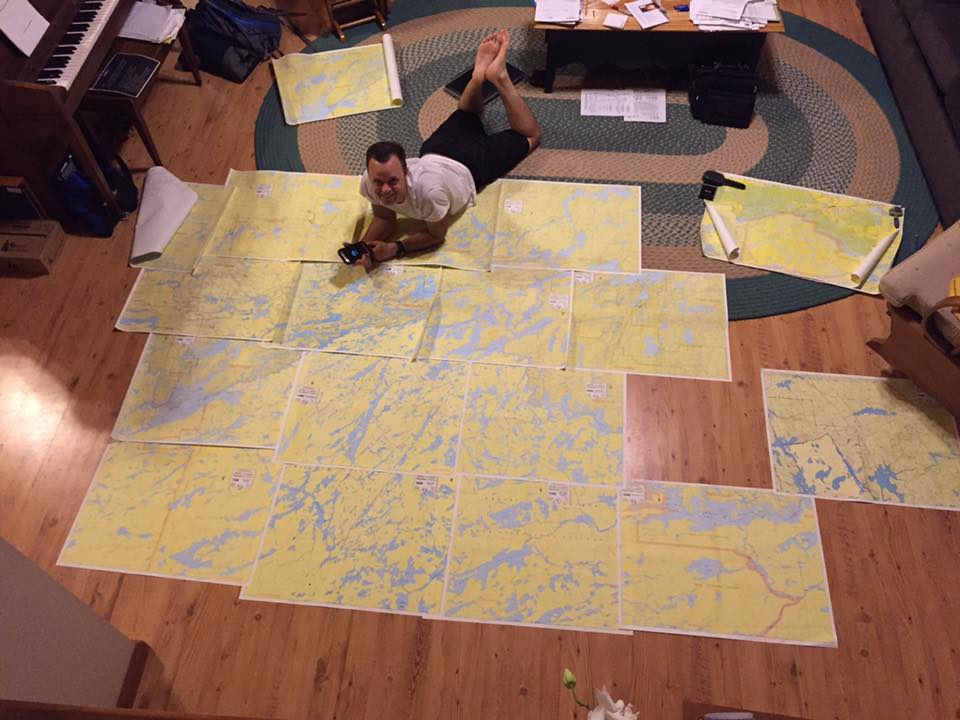 Route planning 2017
