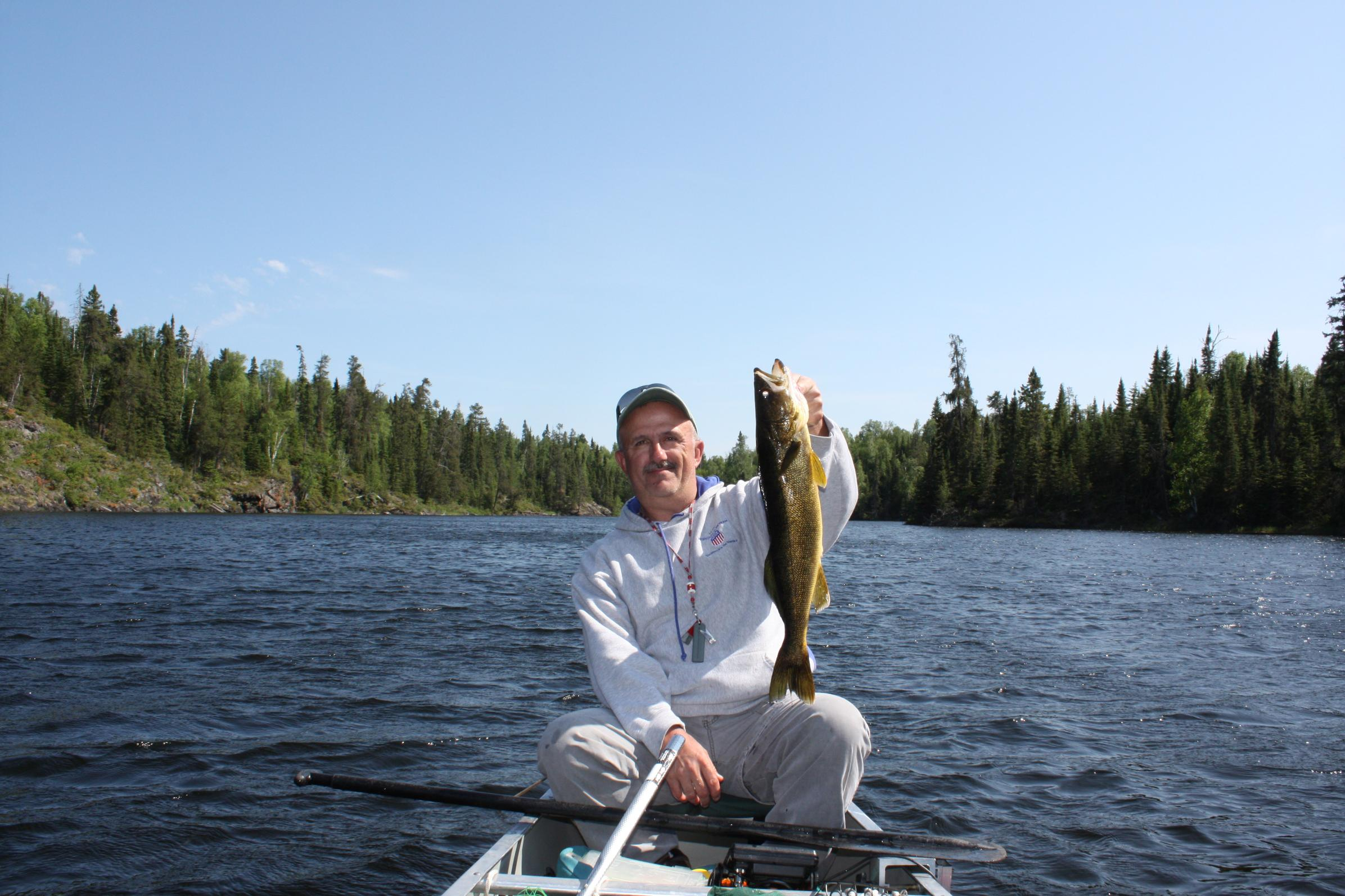 Bwca fishing was good in quetico boundary waters for Boundary waters fishing