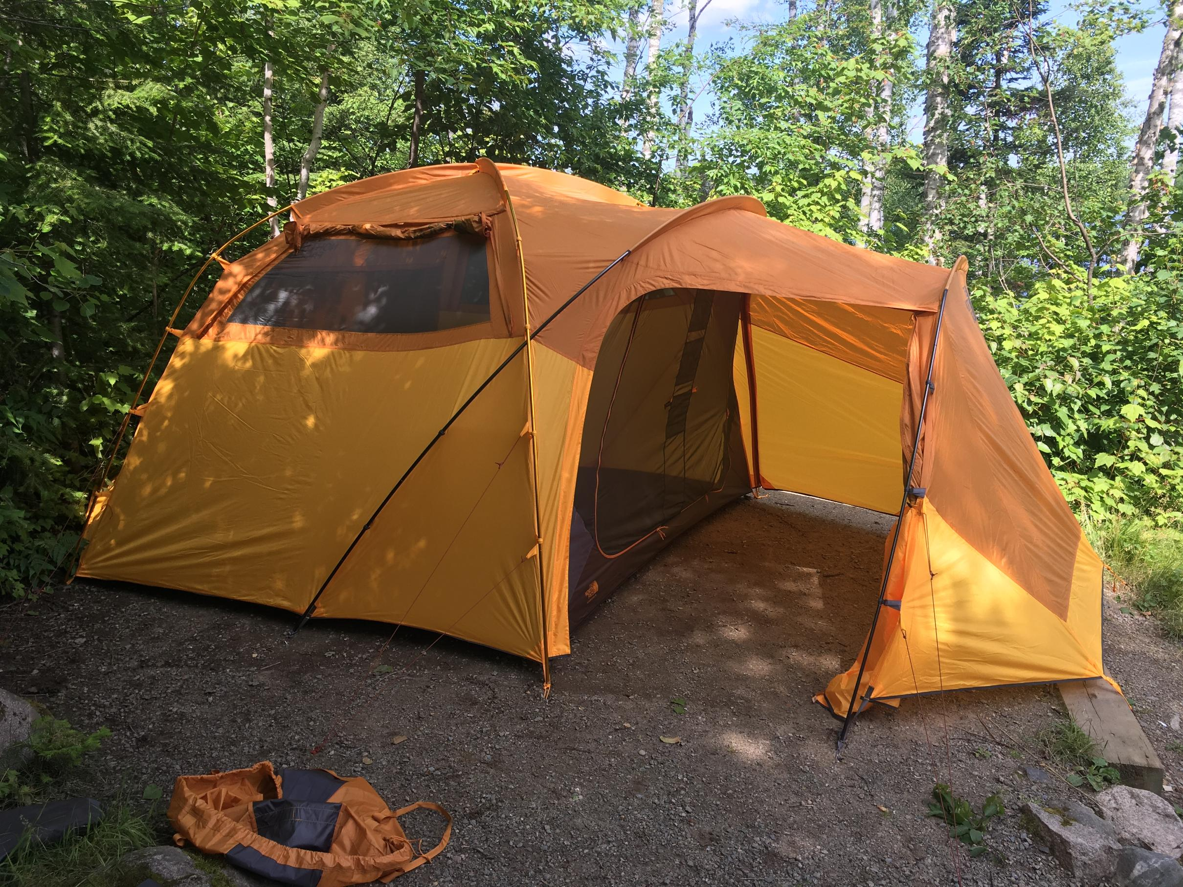 North Face Wawana 6 person & BWCA Family Car Camping Tent? Boundary Waters Gear Forum