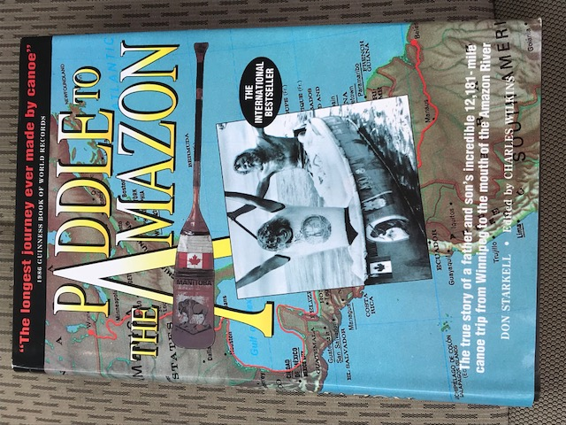 Paddle to the Amazon Book 1989