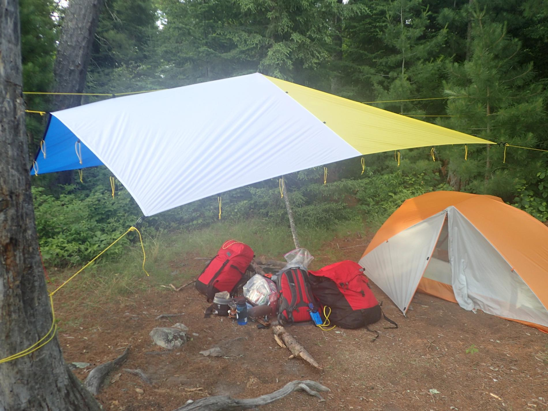 i use a sierra designs lightning xt 4 person tent when i go with a group