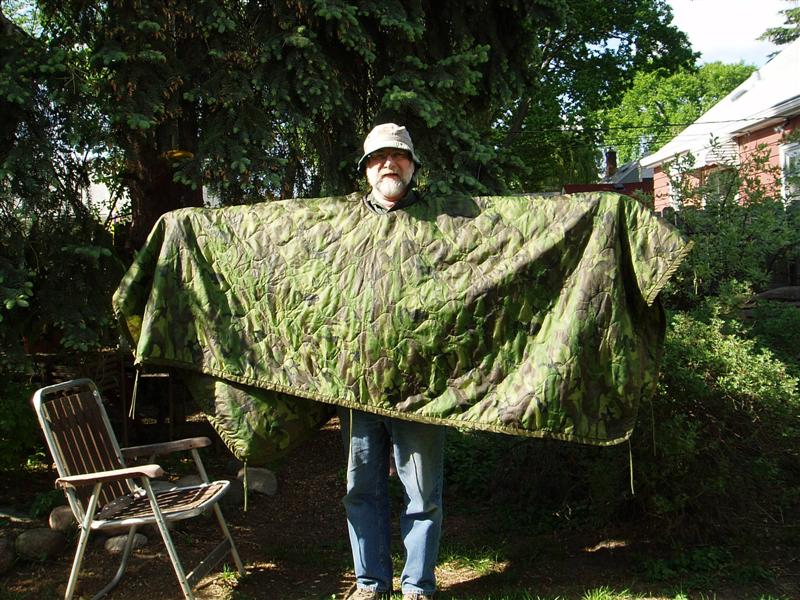 Bwca Army Poncho Liner Hood Added Boundary Waters Gear Forum