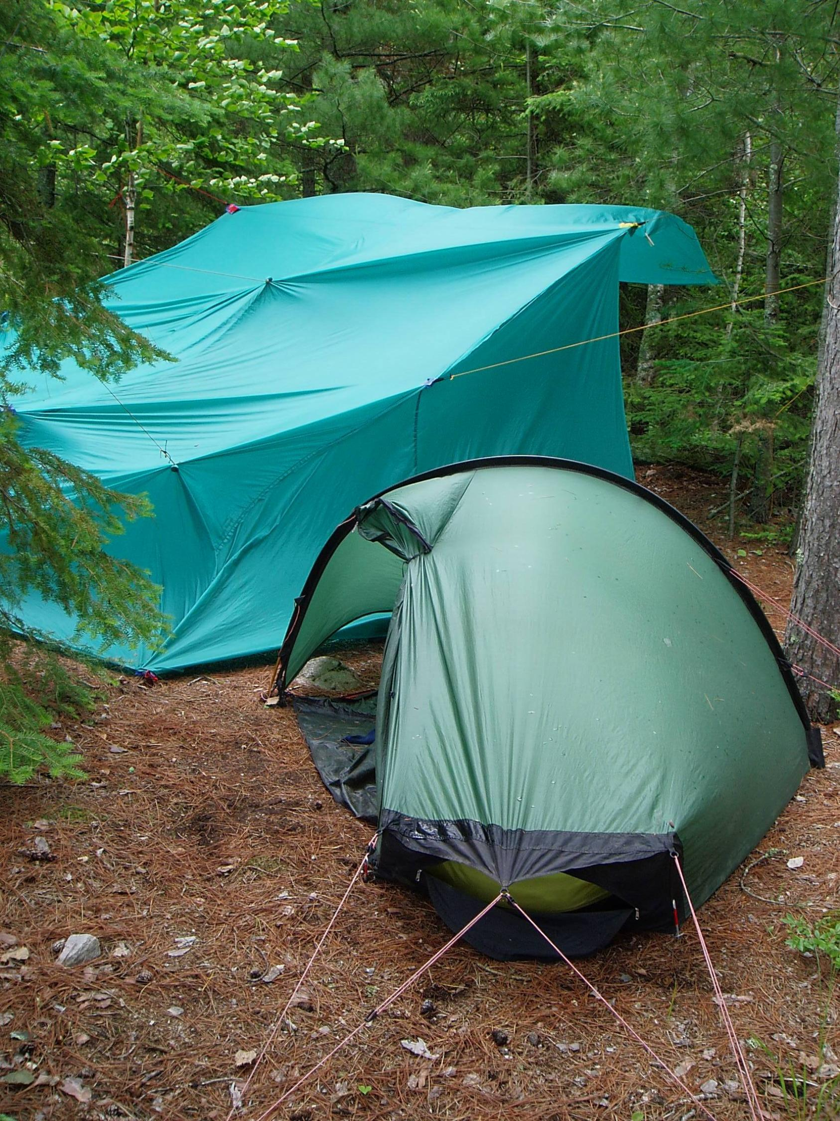 heavy wind and a small c& meant i had to pitch them close together.because i cook in the shelter what i would do is pitch the tent away from it to avoid ... & BWCA tents for solo trips Boundary Waters Gear Forum