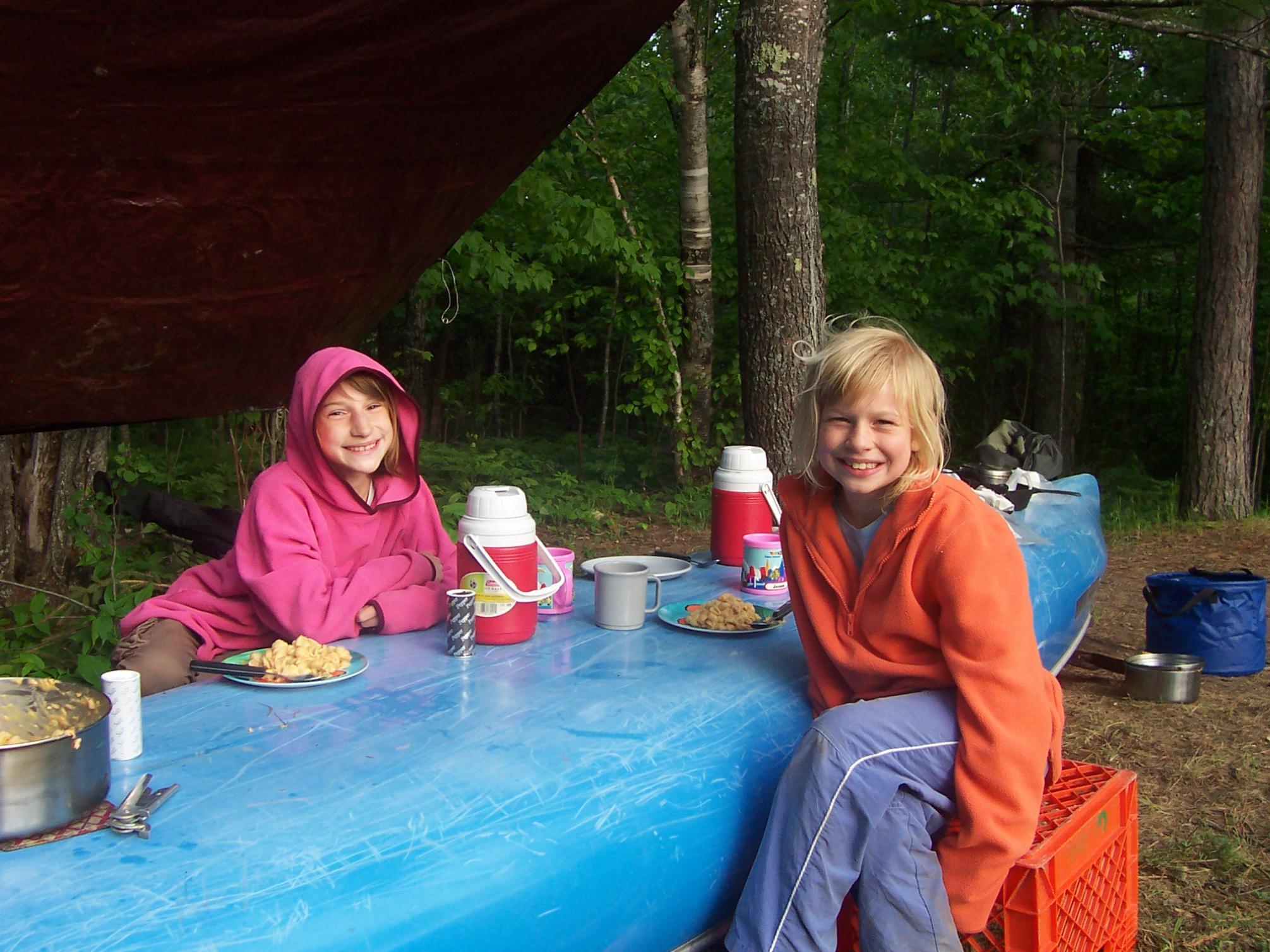 Lunch break along LIS - June 2008