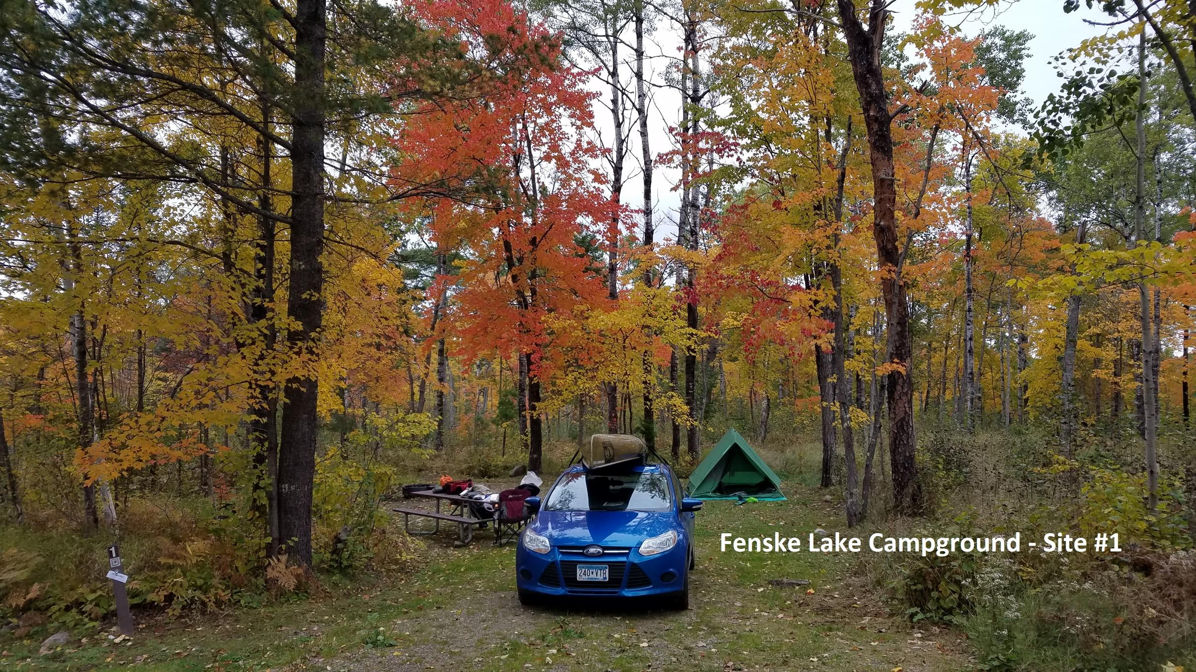 Fenske Lake campground