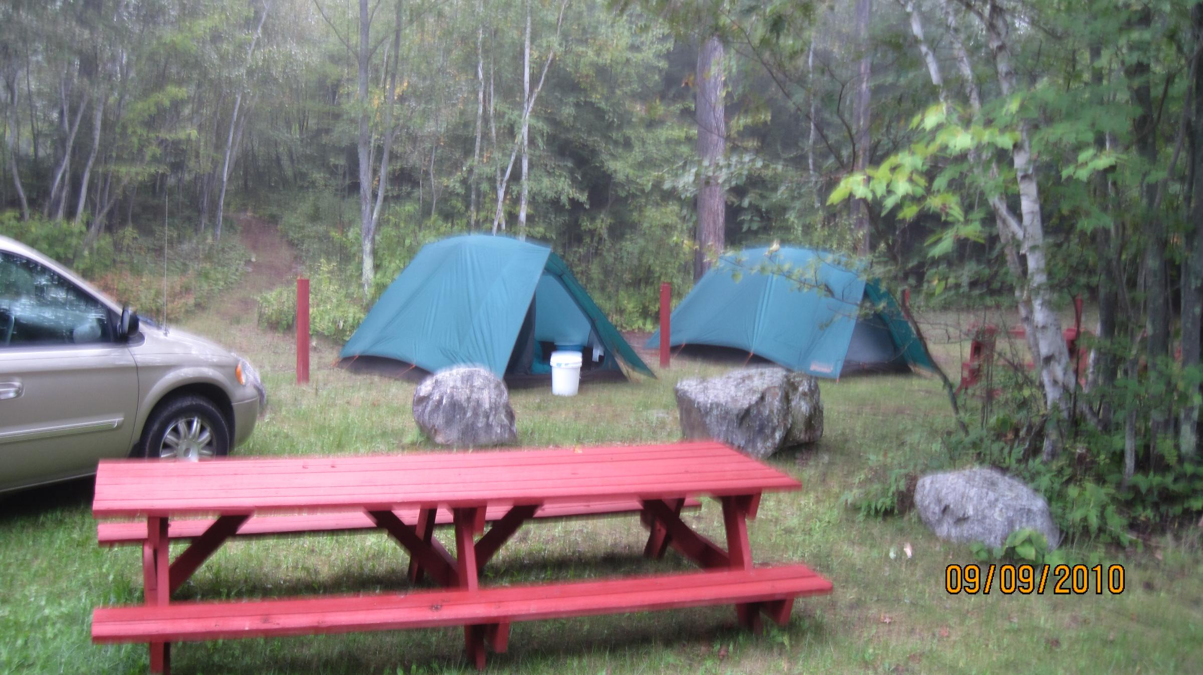 Cliff wolds camp grounds